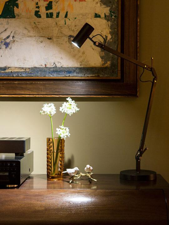 Polo Tischleuchte Marset Spotlight Designort Onlineshop Lampen