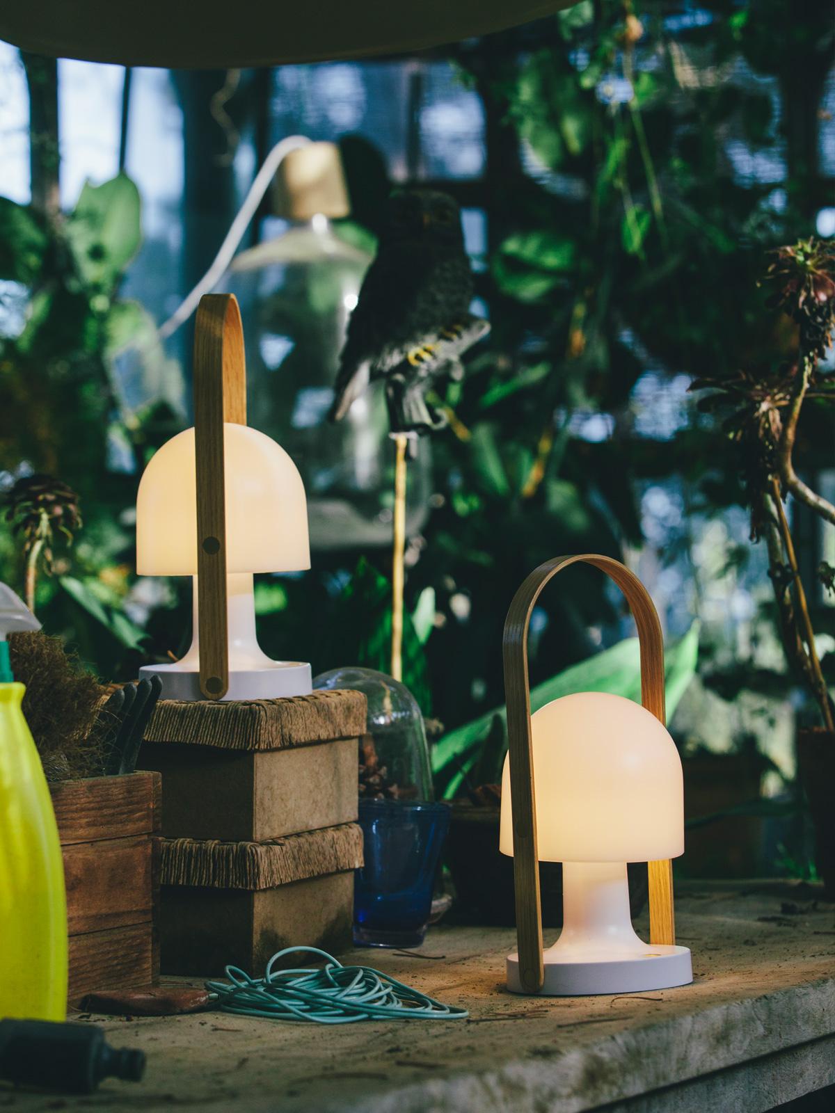 DesignOrt Blog: Spanische Designerleuchten Followme im Garten