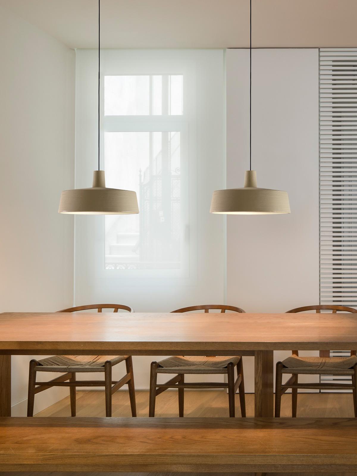 Soho Pendelleuchten über langem Tisch DesignOrt Leuchten