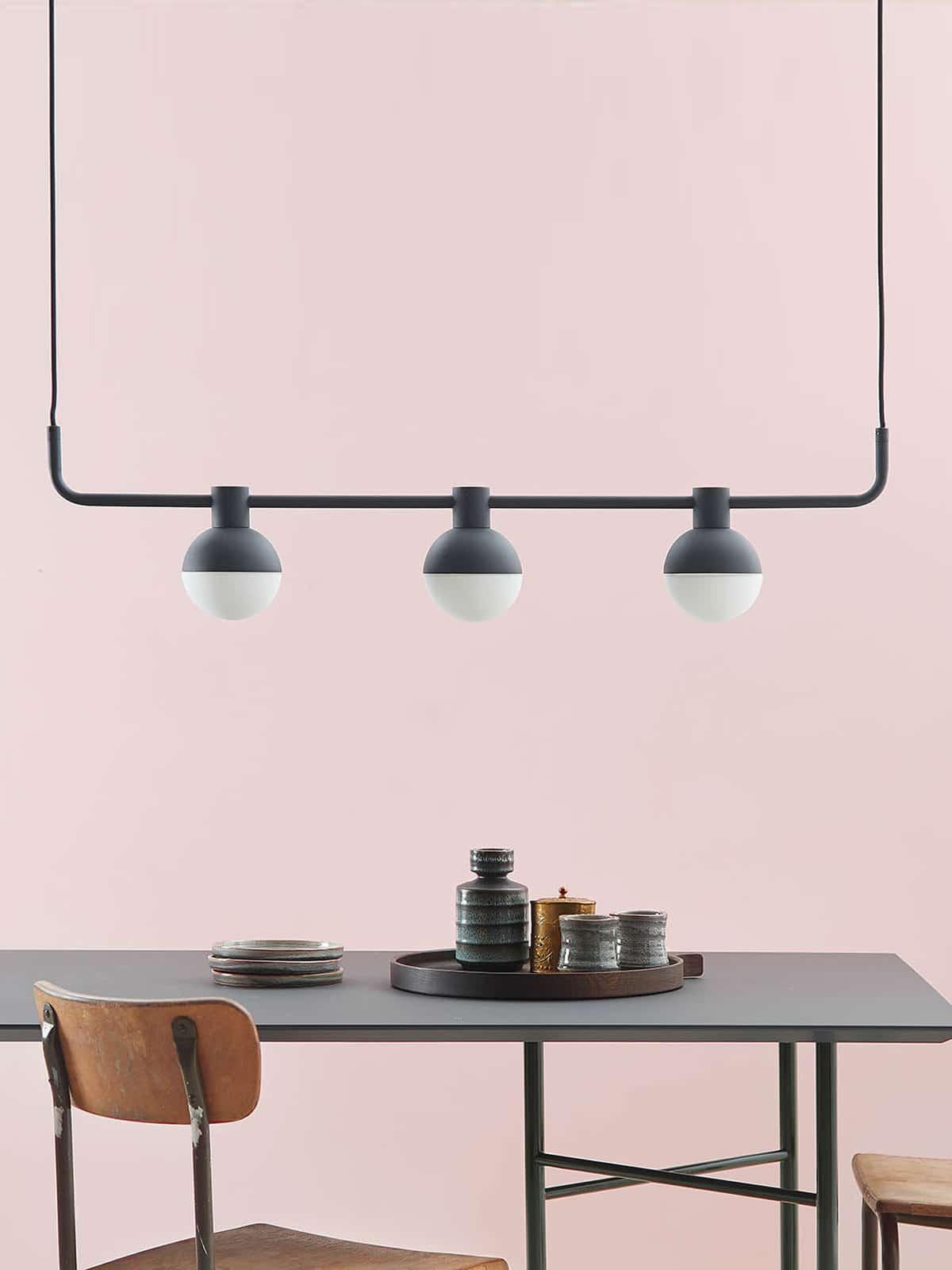 dreiflammige designerleuchten lampen leuchten. Black Bedroom Furniture Sets. Home Design Ideas