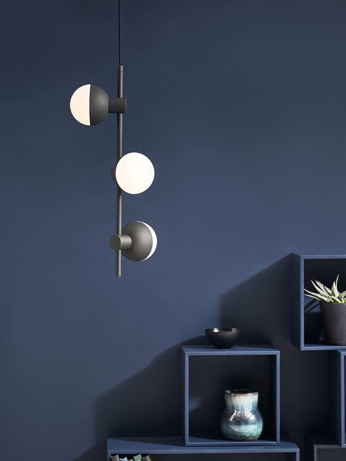 DesignOrt Blog: Kugelige Pendelleuchten Fabian Vertikal Frandsen