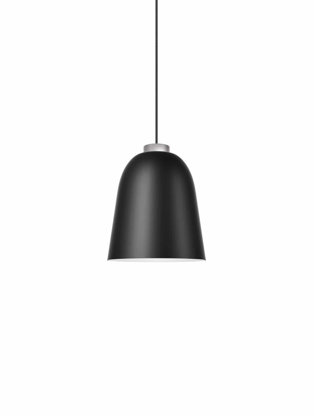 Summera M matt in schwarz-weiß mit silber Aufhängung