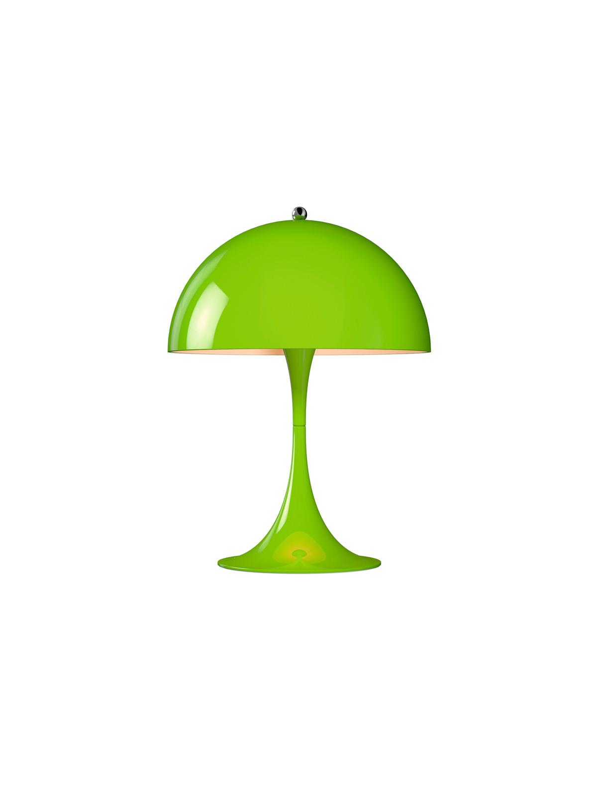 Poulsen Panthella MINI in gelbgrün