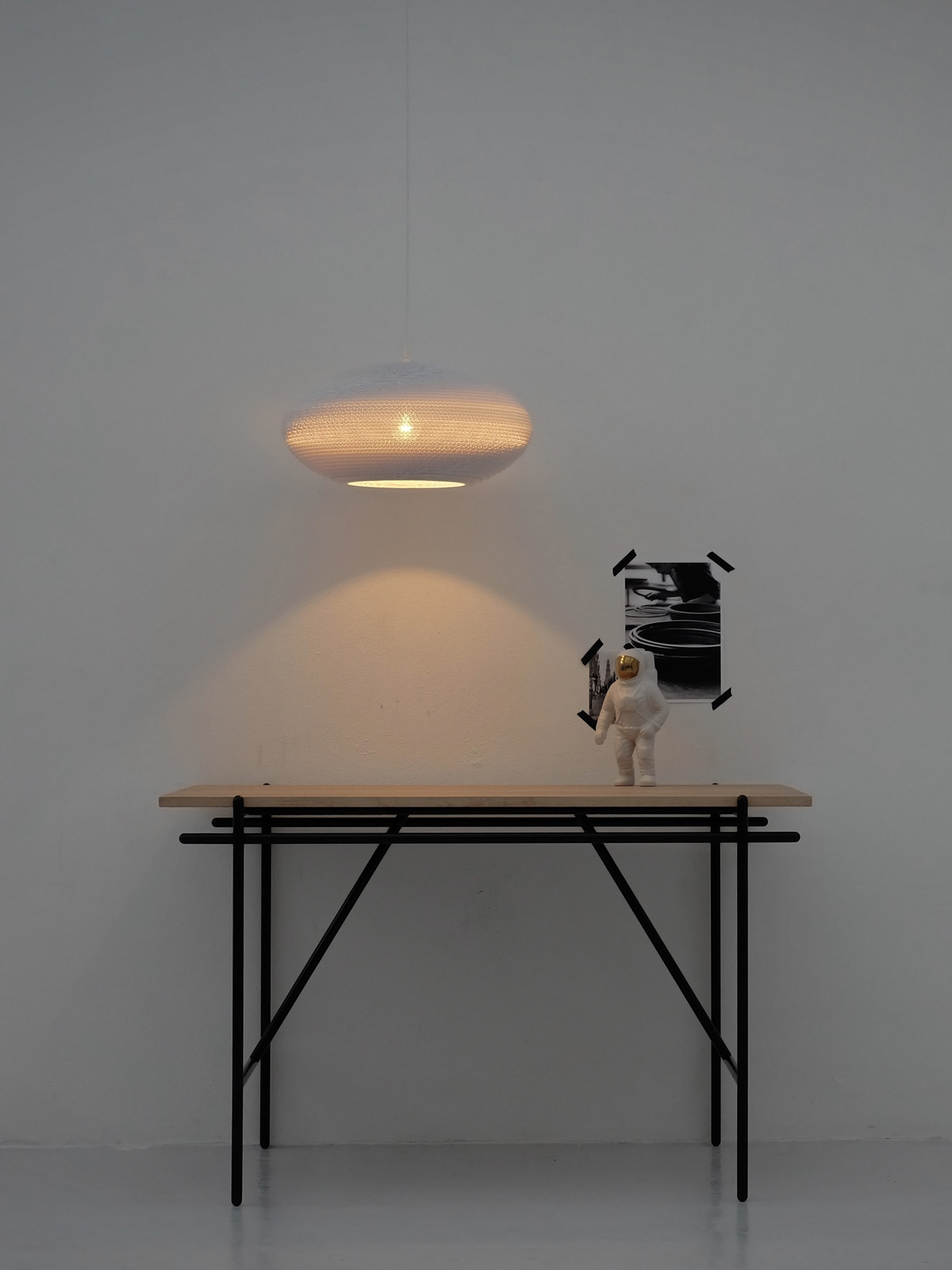 Leuchten von Graypants disc Scraplights white