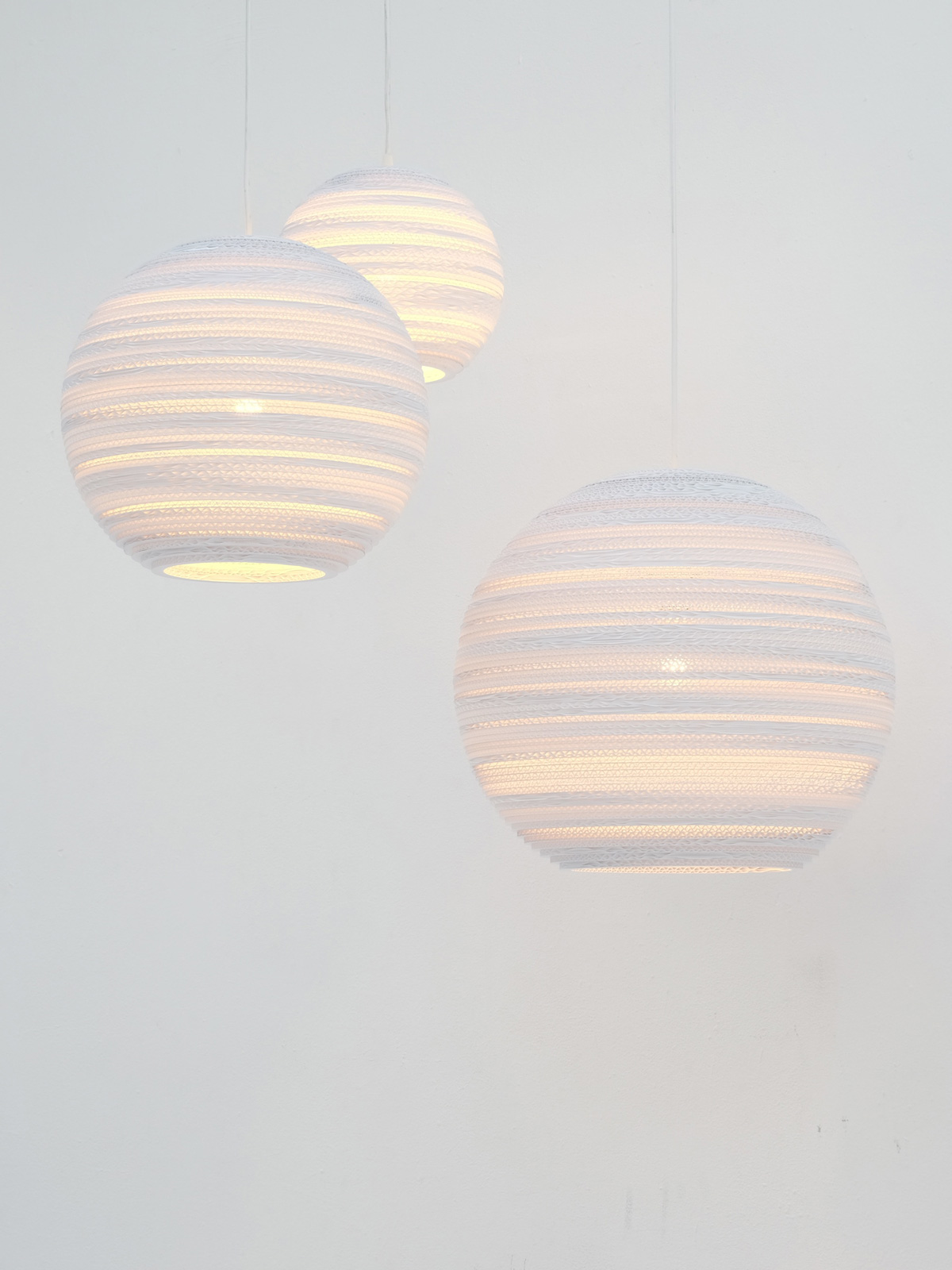 moon Scraplights white von Graypants