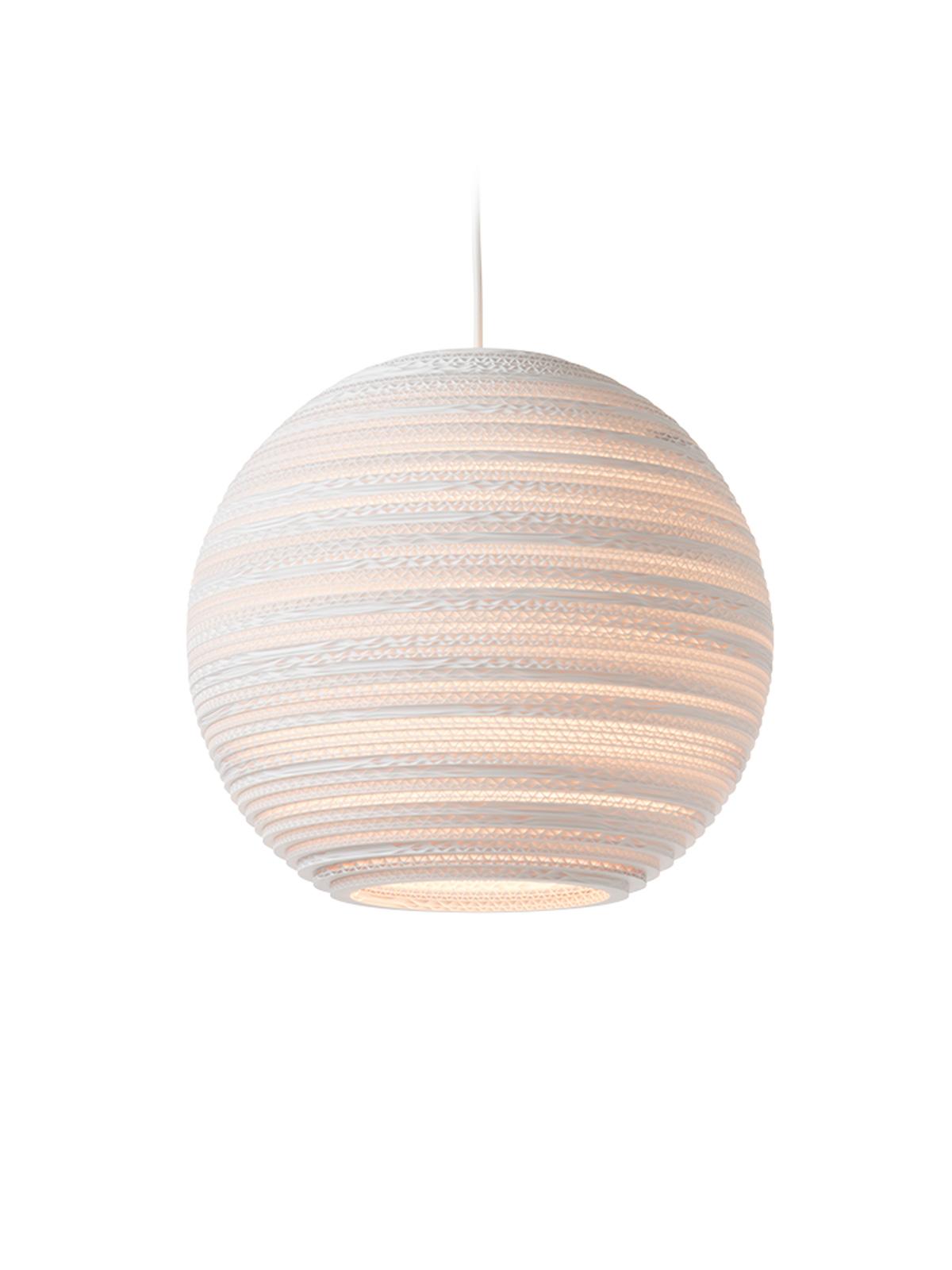 Pendelleuchten von Graypants Moon Scraplights white