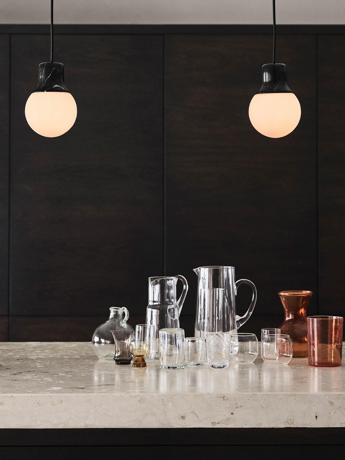 &tradition Mass Light NA5 Marmor und Glas Leuchte DesignOrt Lampen Berlin Onlineshop