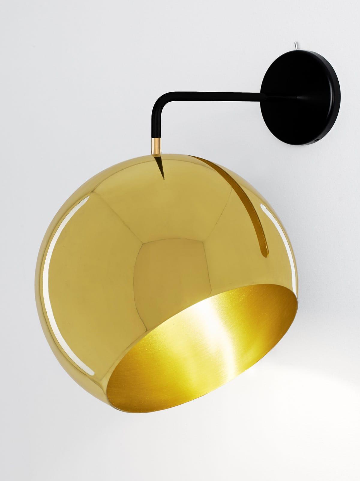 NYTA Messinglampe für Wand von NYTA bei Designort Berlin