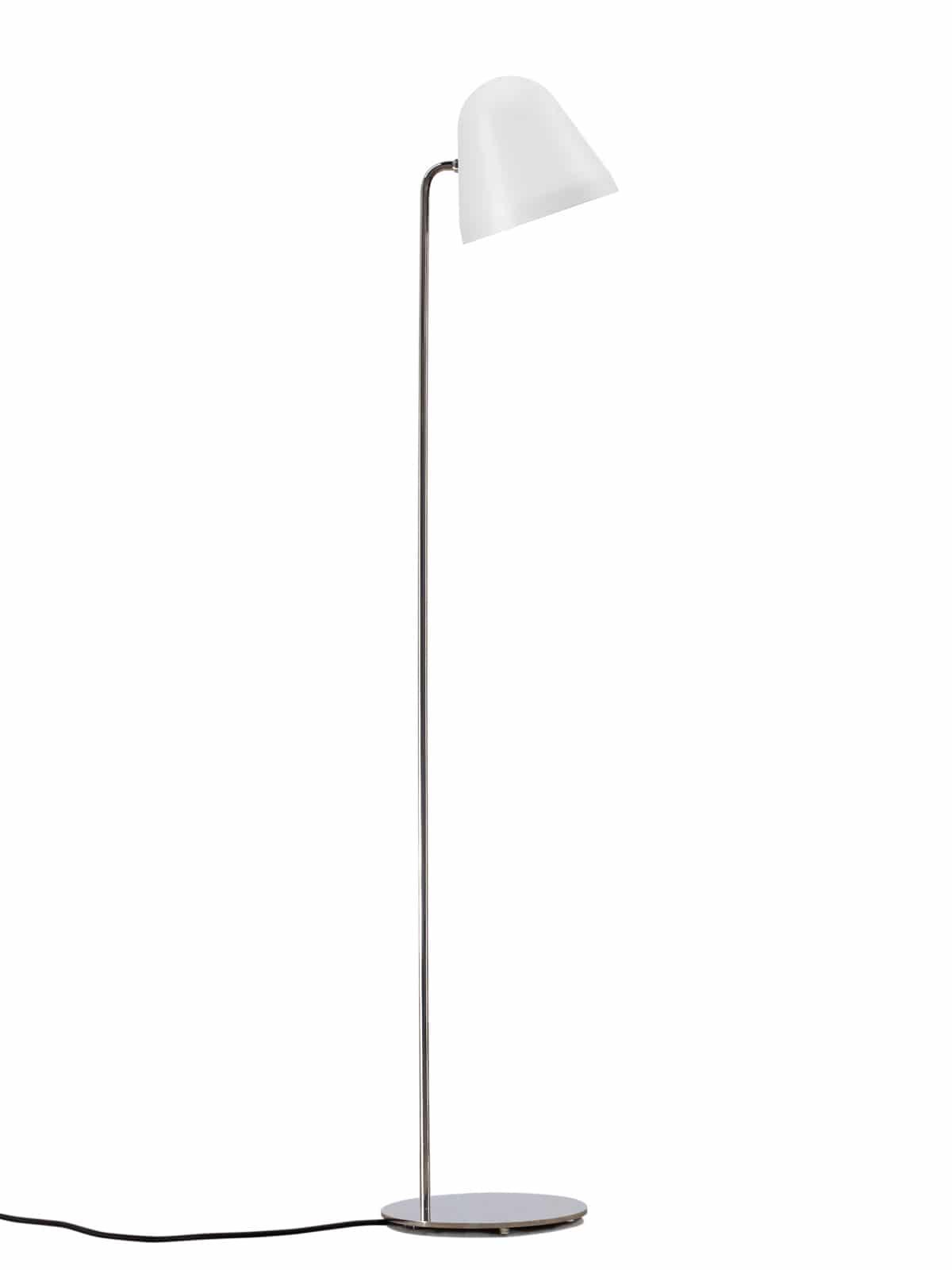 Stehlampe von NYTA Tilt S Floor in Weiss