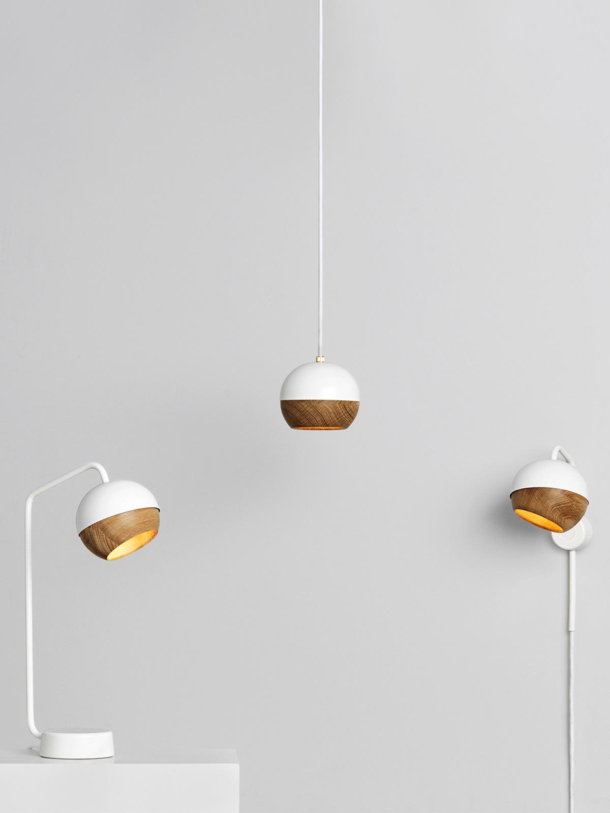 Ray Lampenfamilie von Mater in Weiss DesignOrt Onlineshop Berlin