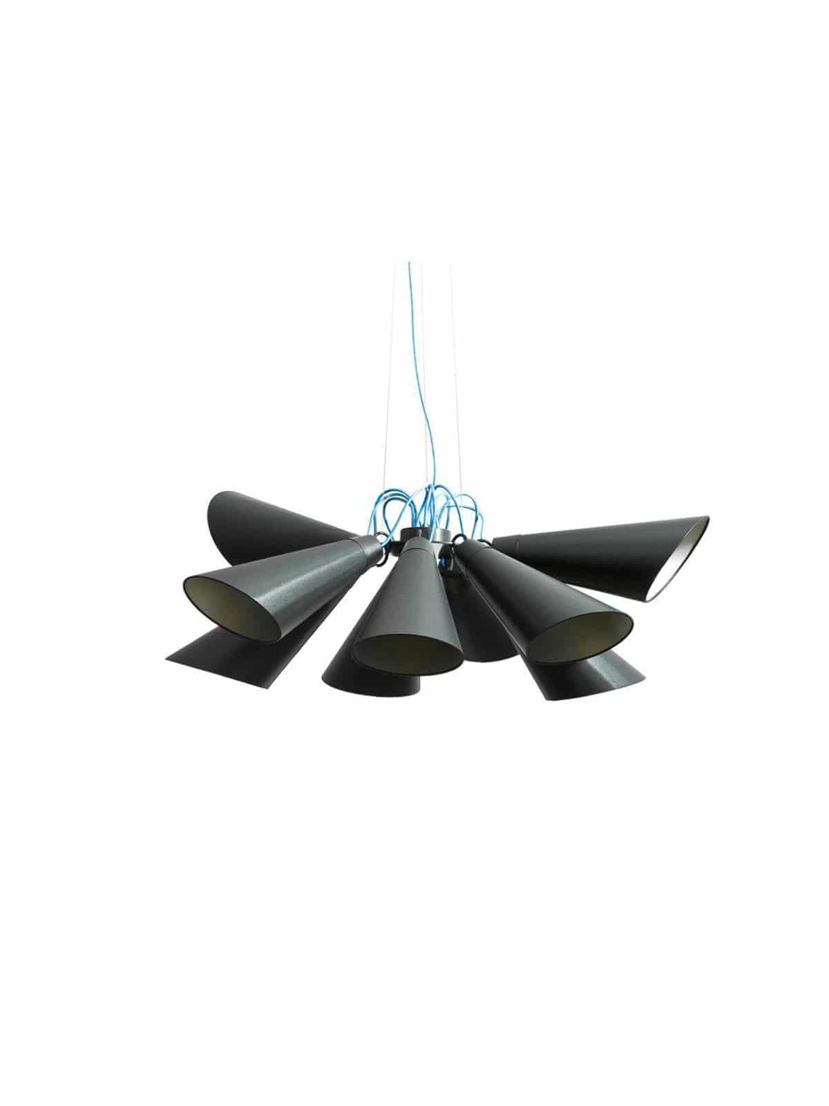neunflammige Pendelleuchte PIT 9 Domus Licht online bei DesignOrt Berlin
