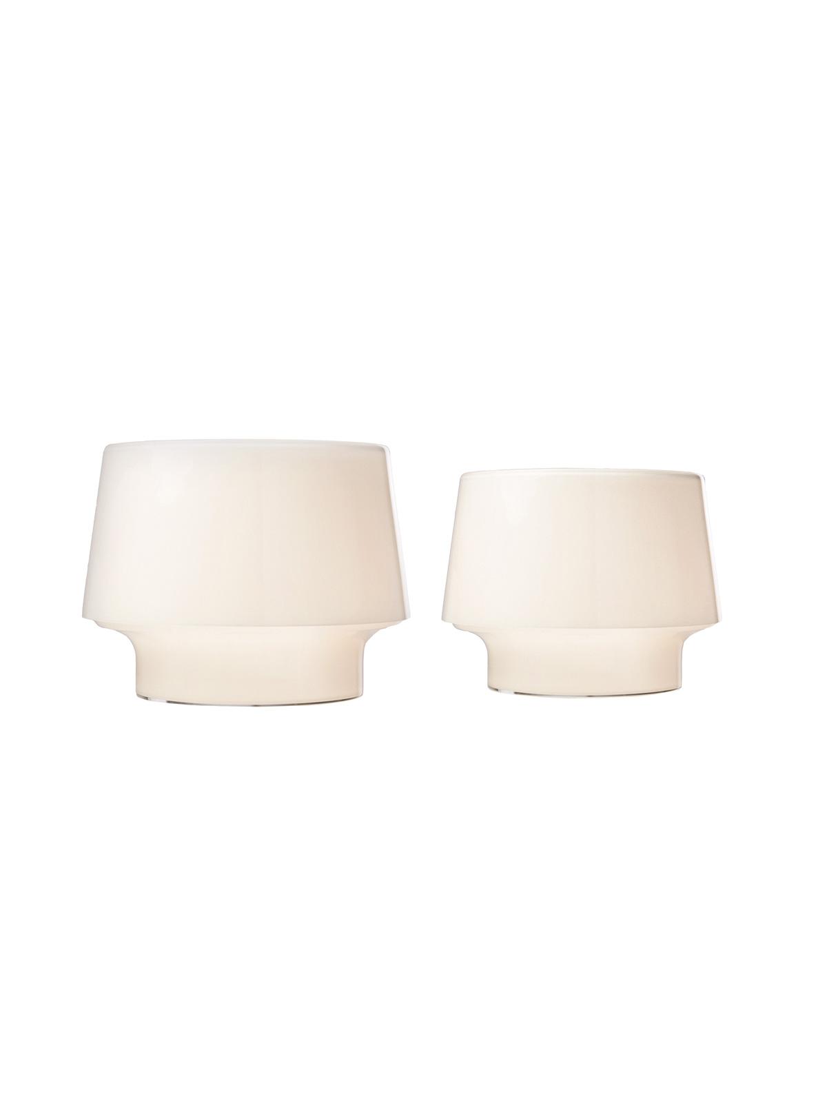 Tischleuchten Cosy in White beide Größen