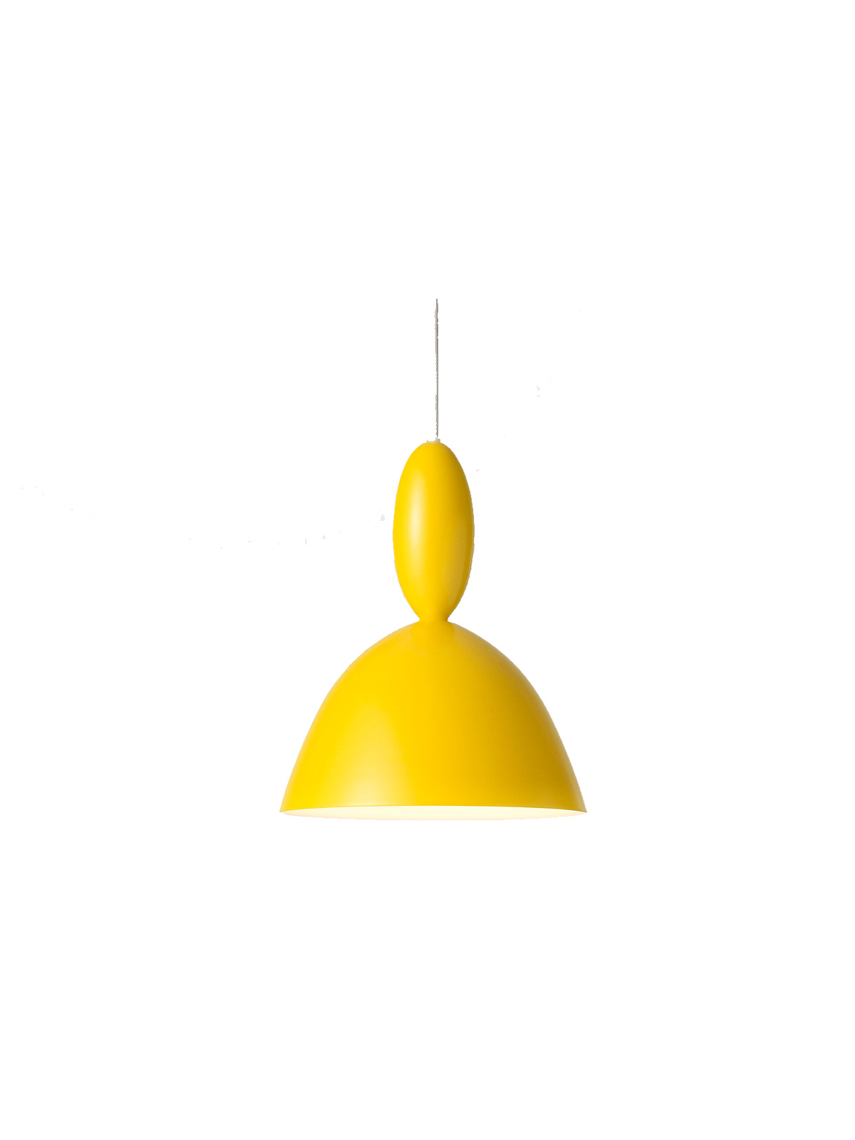 Haengelampe Mhy von Muuto in Gelb DesignOrt Berlin