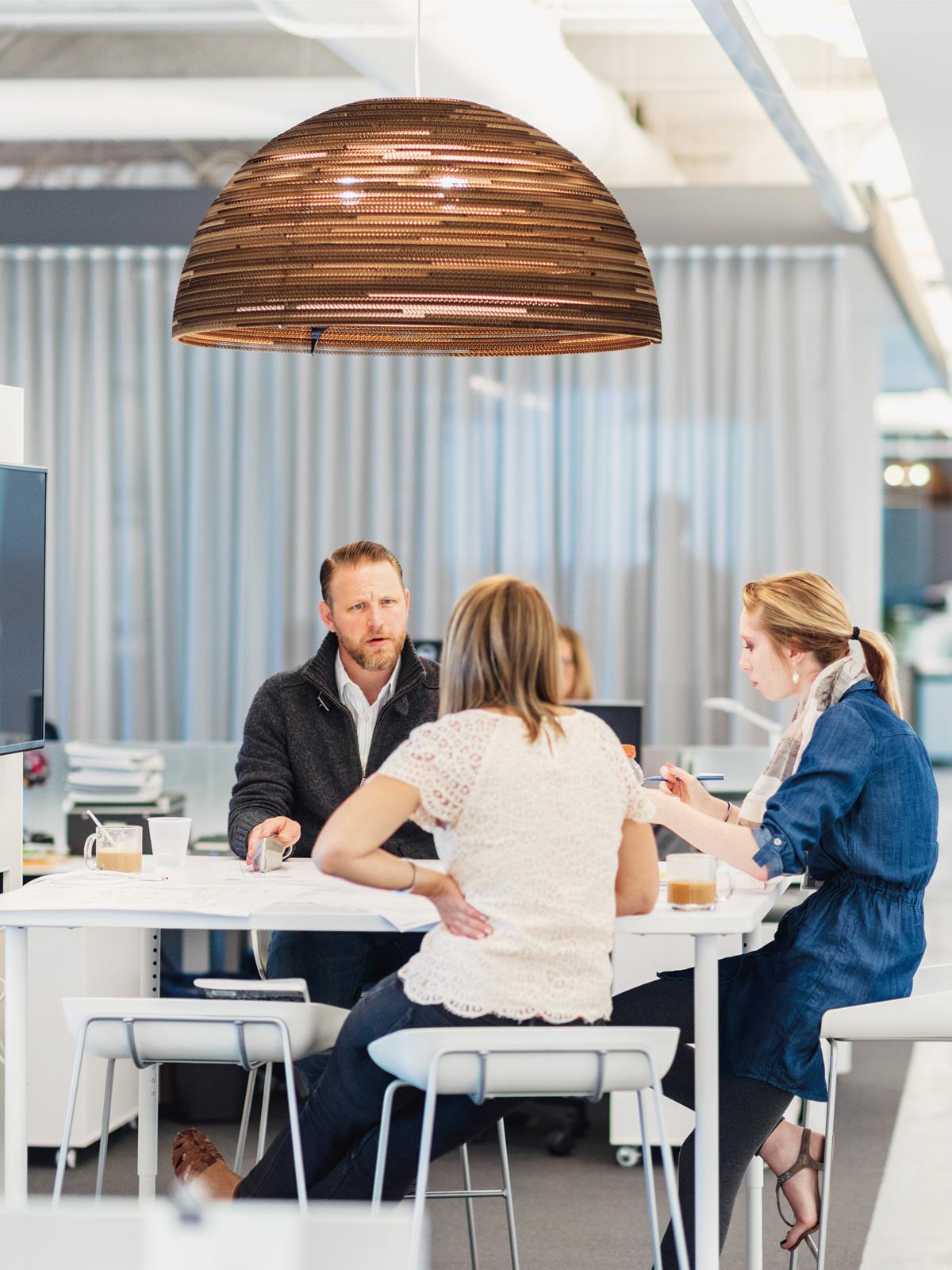 DesignOrt Blog: Große Designerleuchten Graypants Dome Pendelleuchte