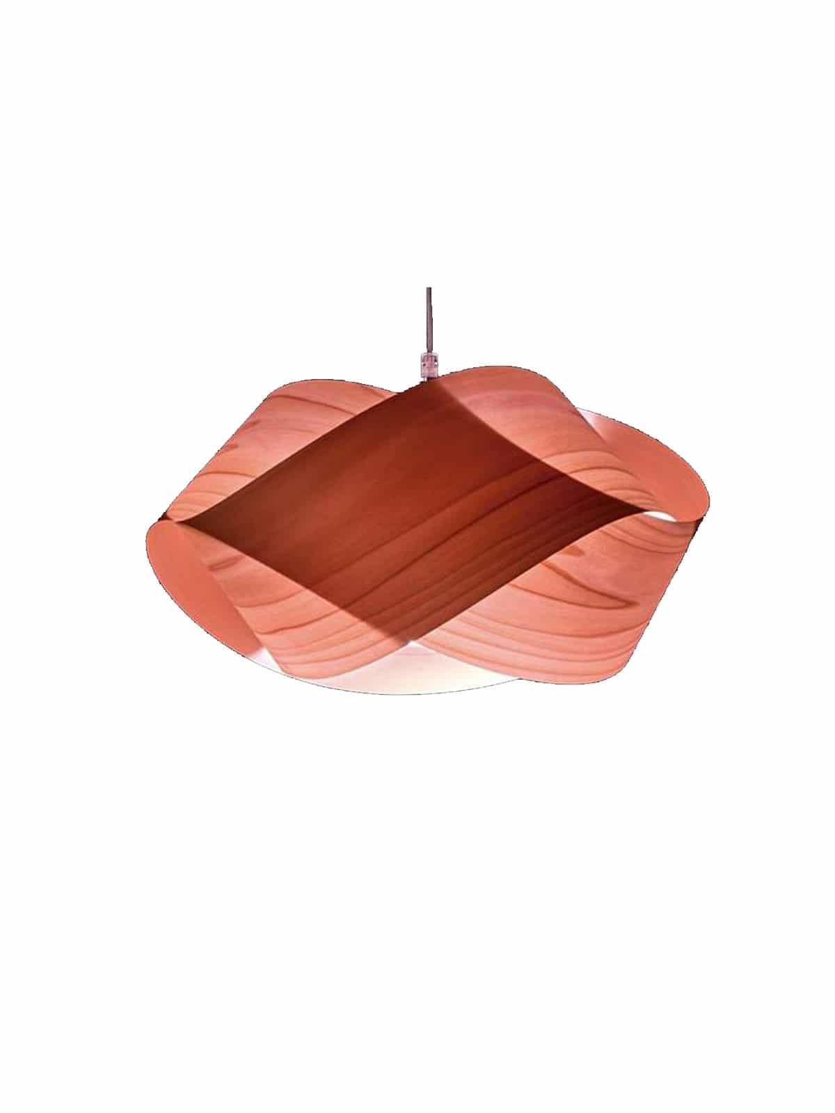 NEU Holzlampe Nut in pink