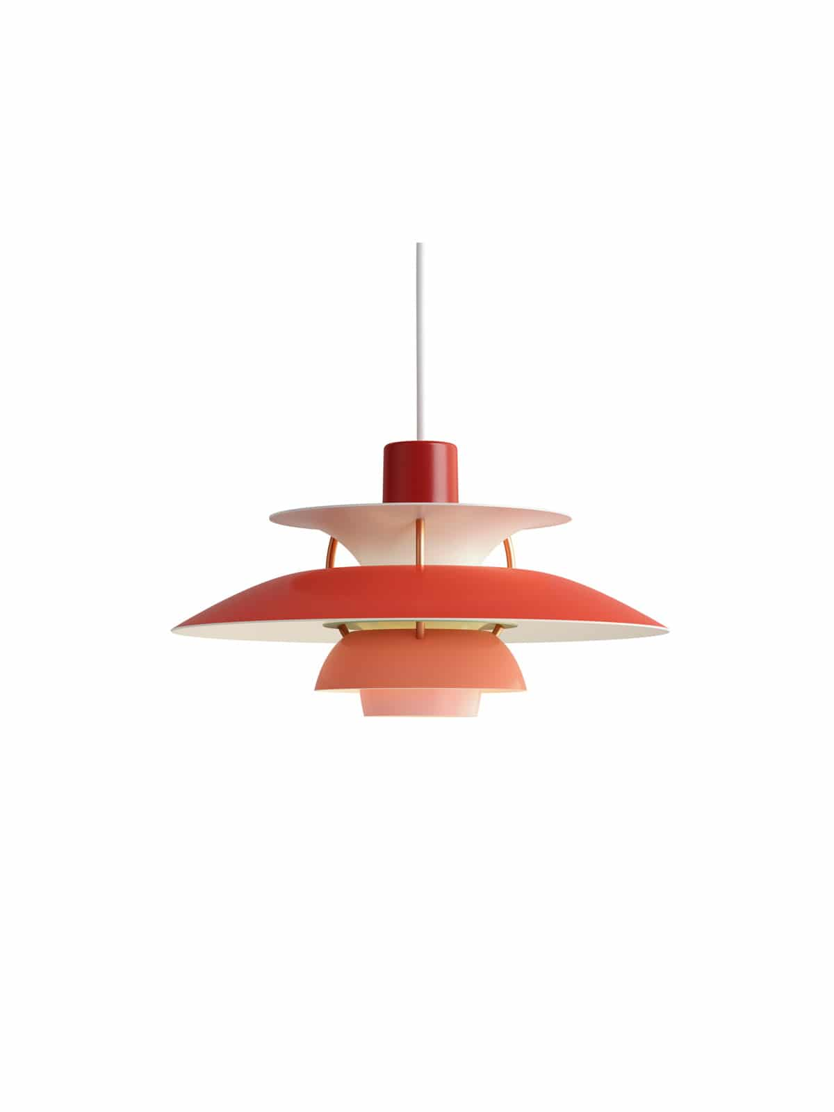 Design Lampe PH5 Mini rot