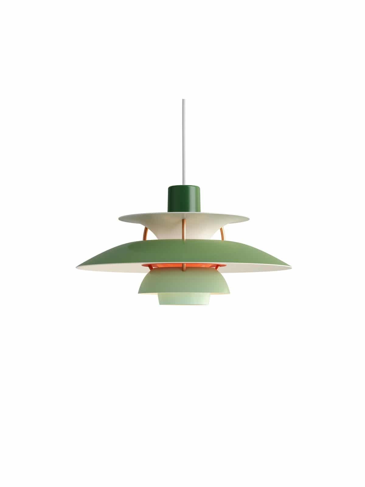 Designerlampe PH5 Mini gruen