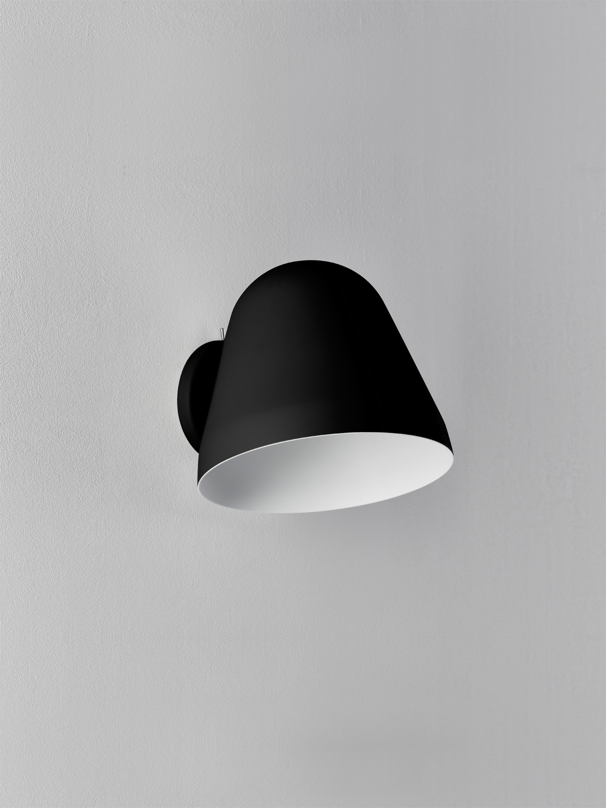 Wandlampe Tilt Wall Schwarz