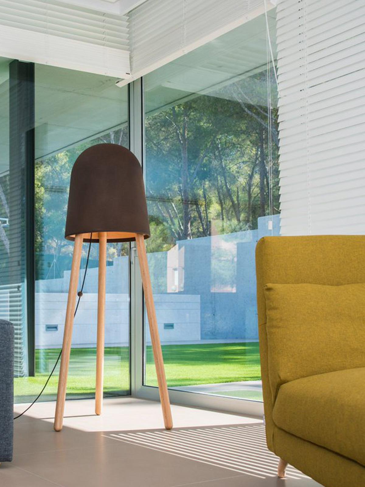 DesignOrt Blog: Dreibeinige Designerleuchten Zaji