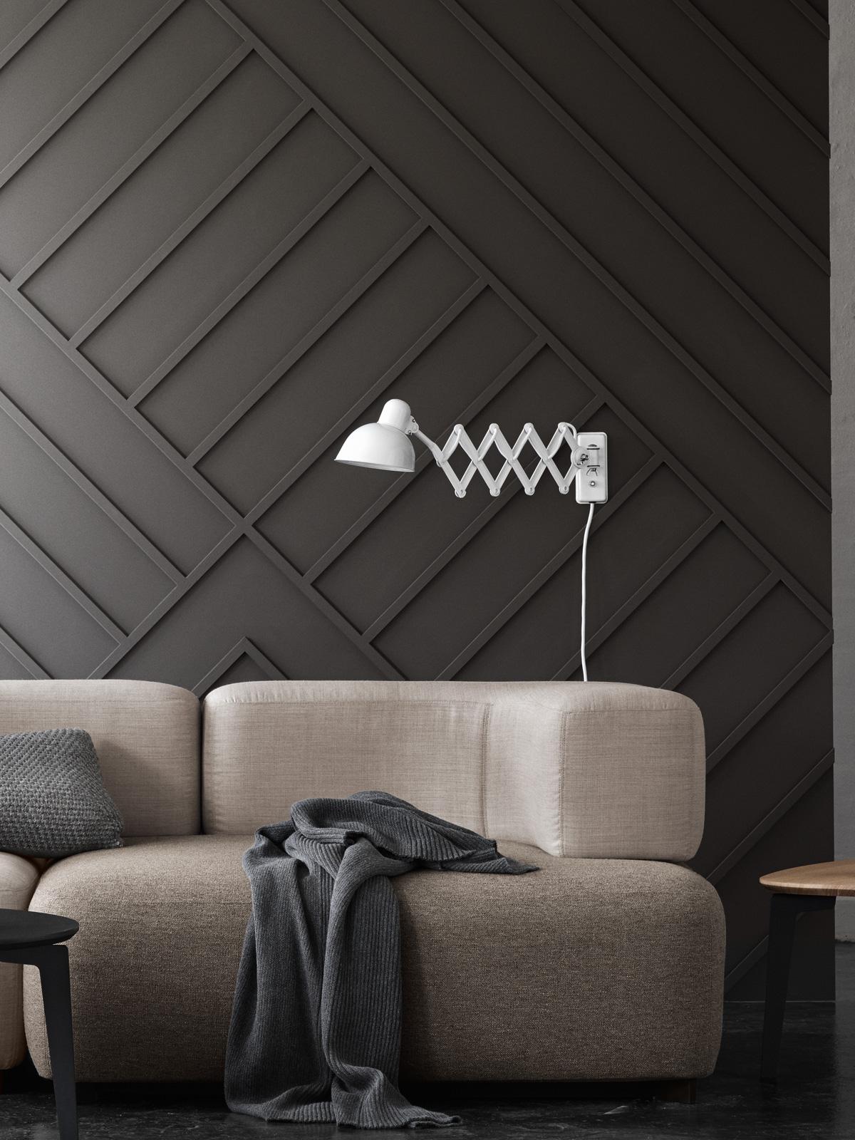 DesignOrt Blog: Industrielampen & Leuchten Kaiser Idell Scherenleuchte