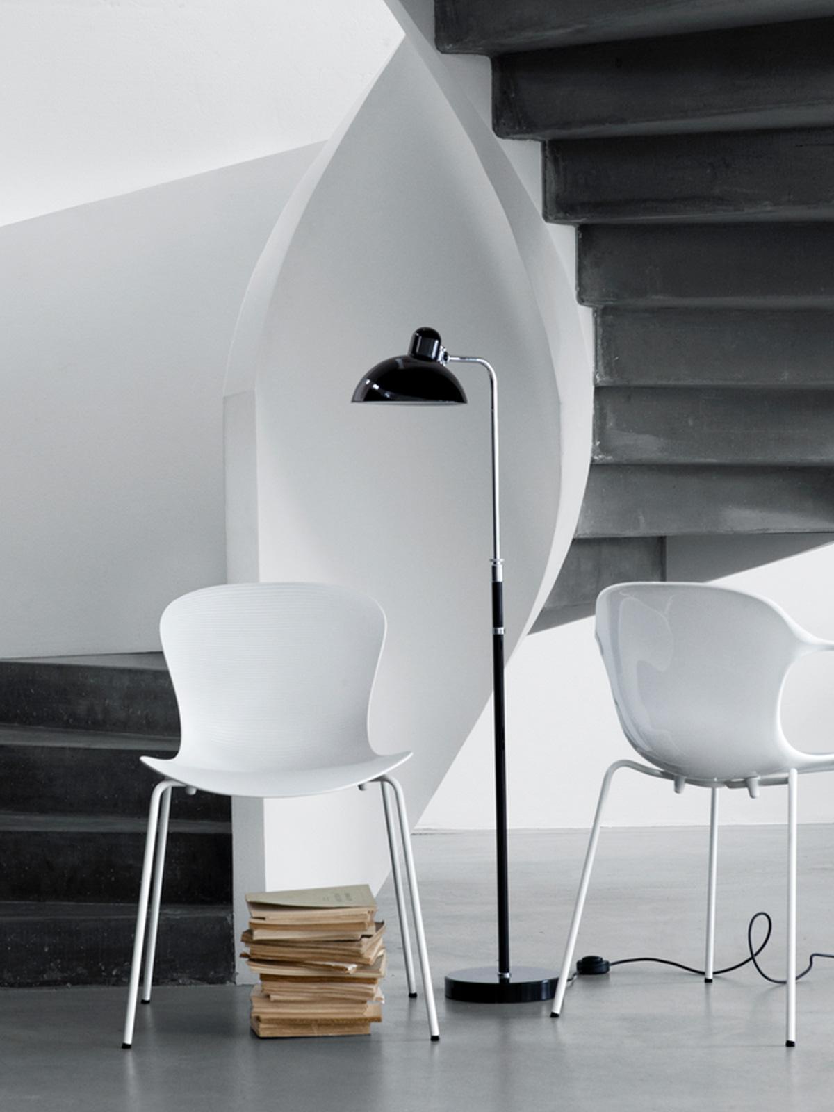 DesignOrt Lampenblog: Eine Lampenfamilie stellt sich vor - Stehleuchte im Bauhaus Stil