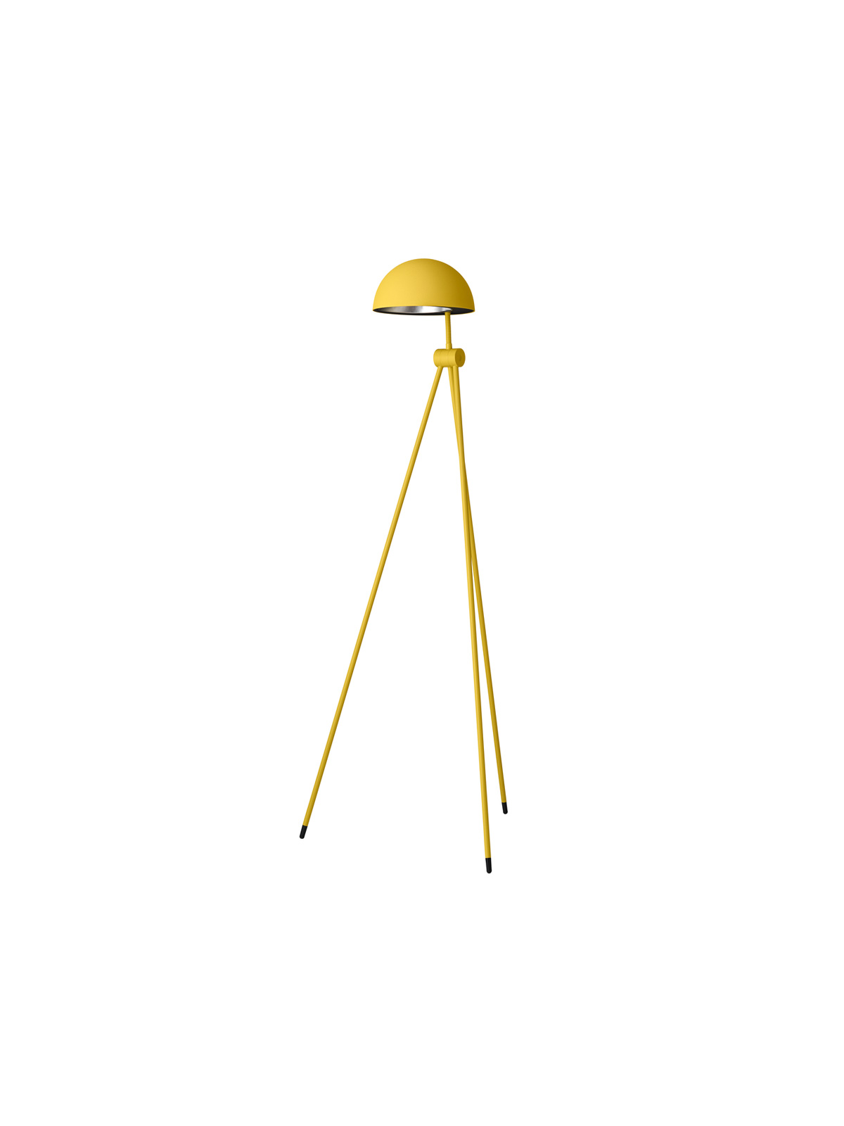 Stehlampe Radon in Gelb Lightyears