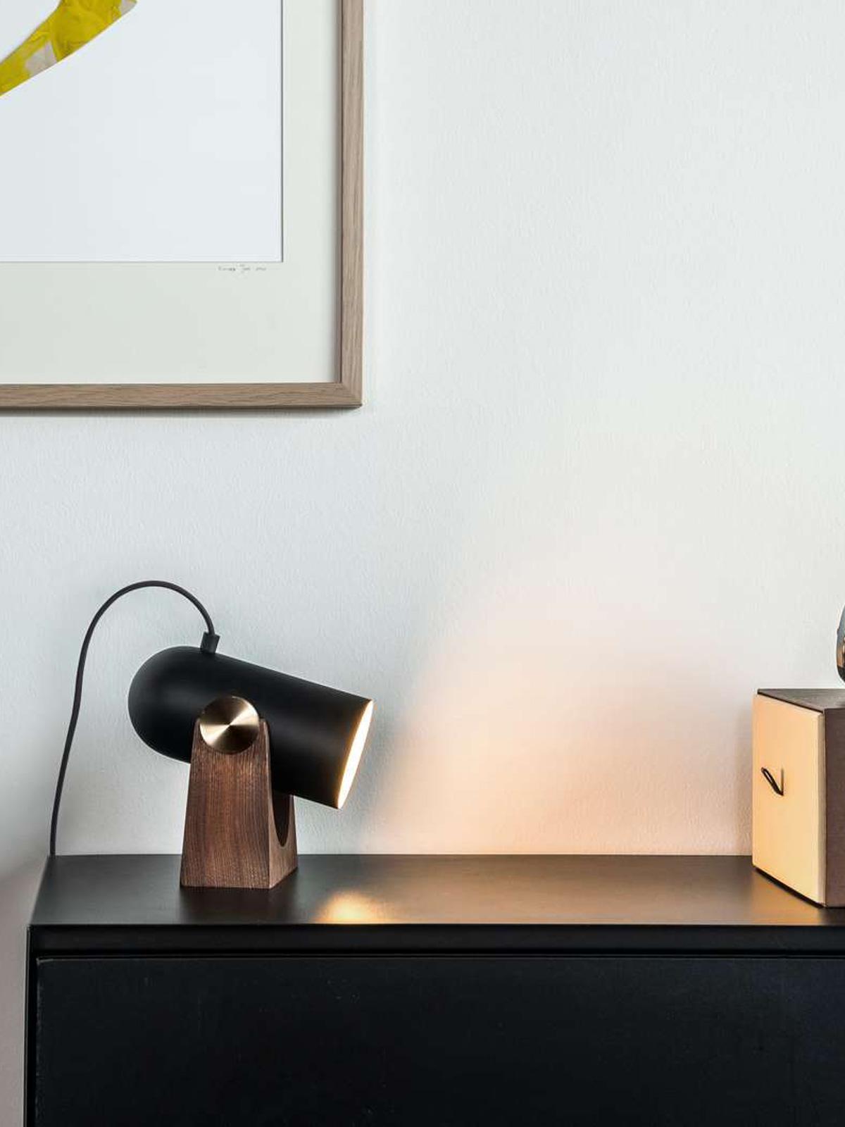 DesignOrt Blog: Multifunktionale Designerleuchten Wandleuchte und Tischleuchte Carronade Wall Table