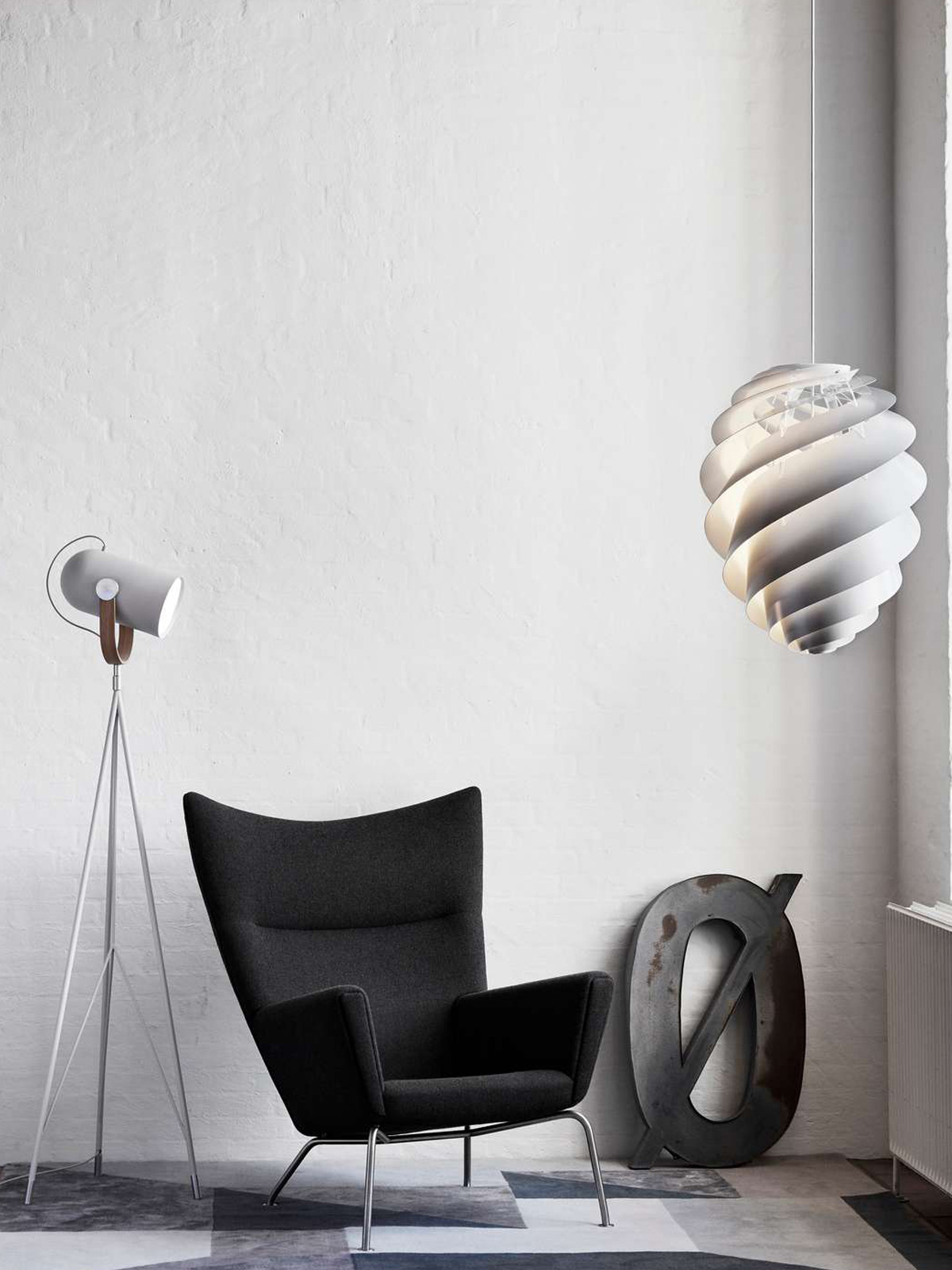 DesignOrt Blog: Trend: Silberne Designerleuchten Carronade und Swirl Le Klint