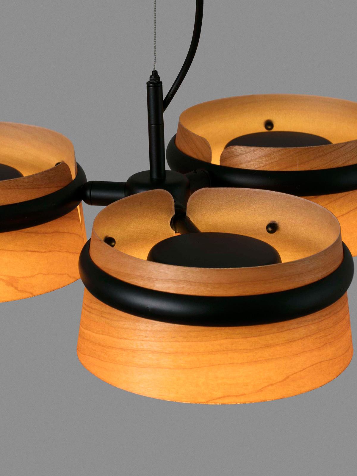 Pendellampe Loop Pendant dreiflammige LED Leuchte von Faro