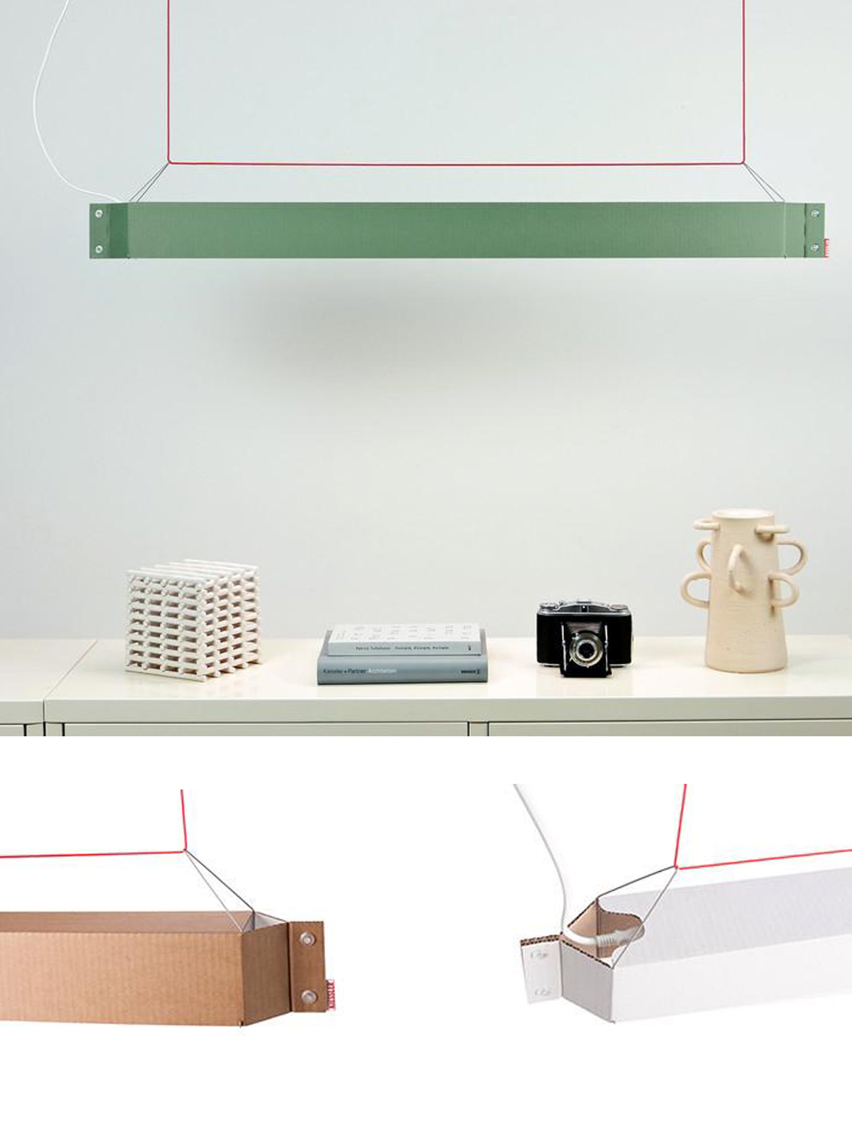 Design aus Berlin mit langen Hängelampen numerouno LED Kiessler