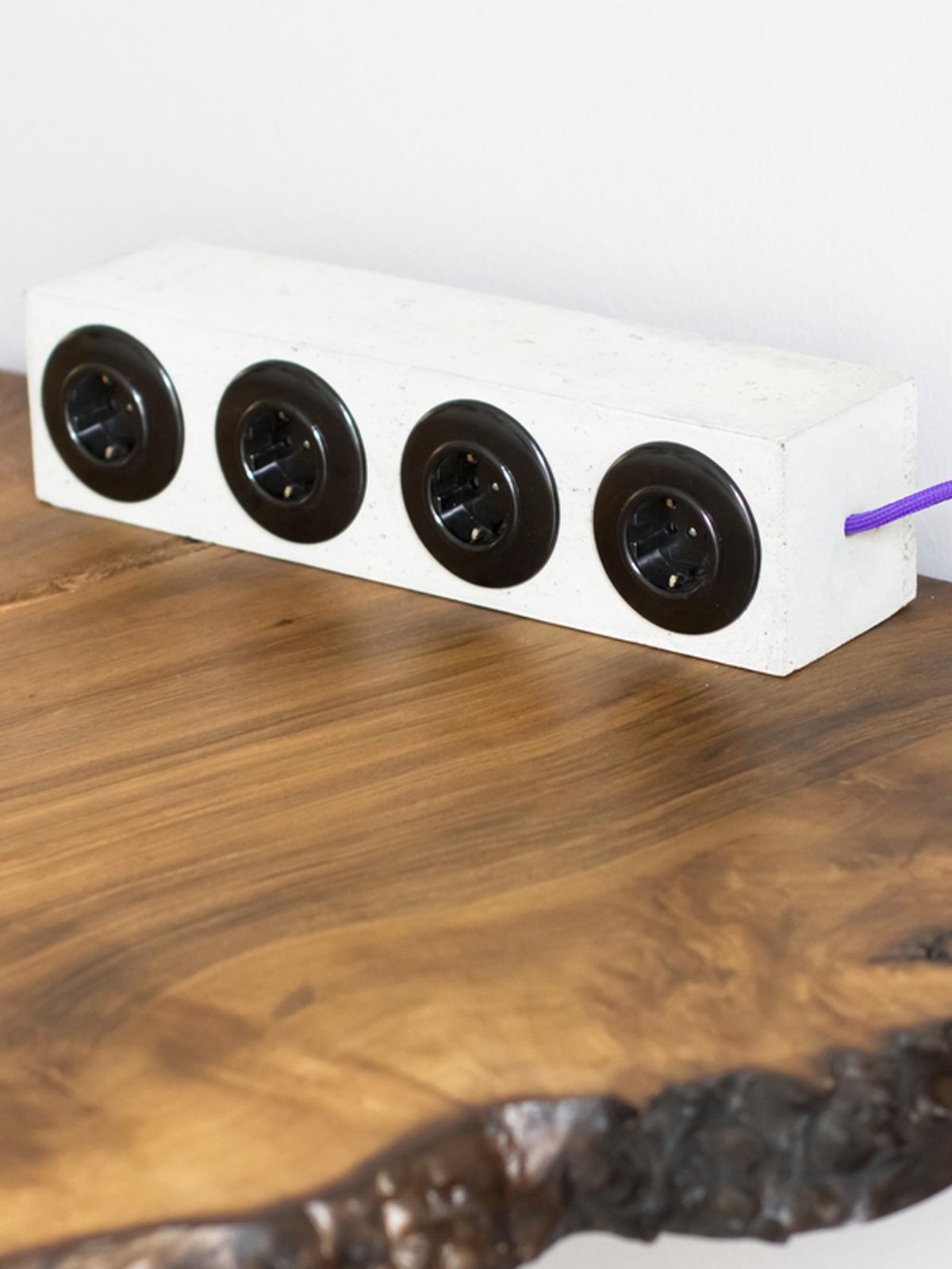 I Tetri Plug I Design aus Berlin Beton Handarbeit