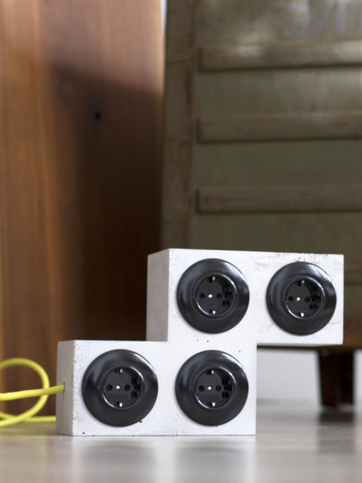Tetriplug S coole Verlängerung aus Beton