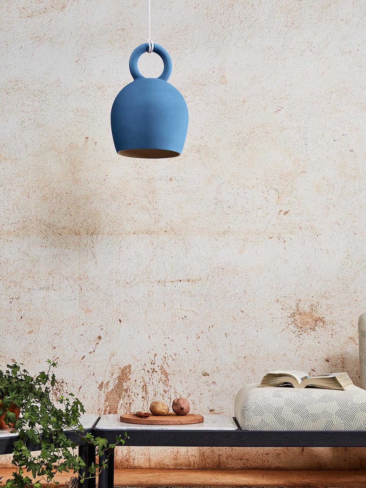 DesignOrt Blog: Pendelleuchten aus Keramik Pendel Lampe Caló Pottery Project Pott