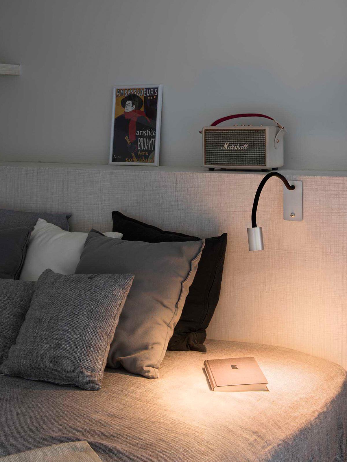 Wandlampe Leser Faro Barcelona