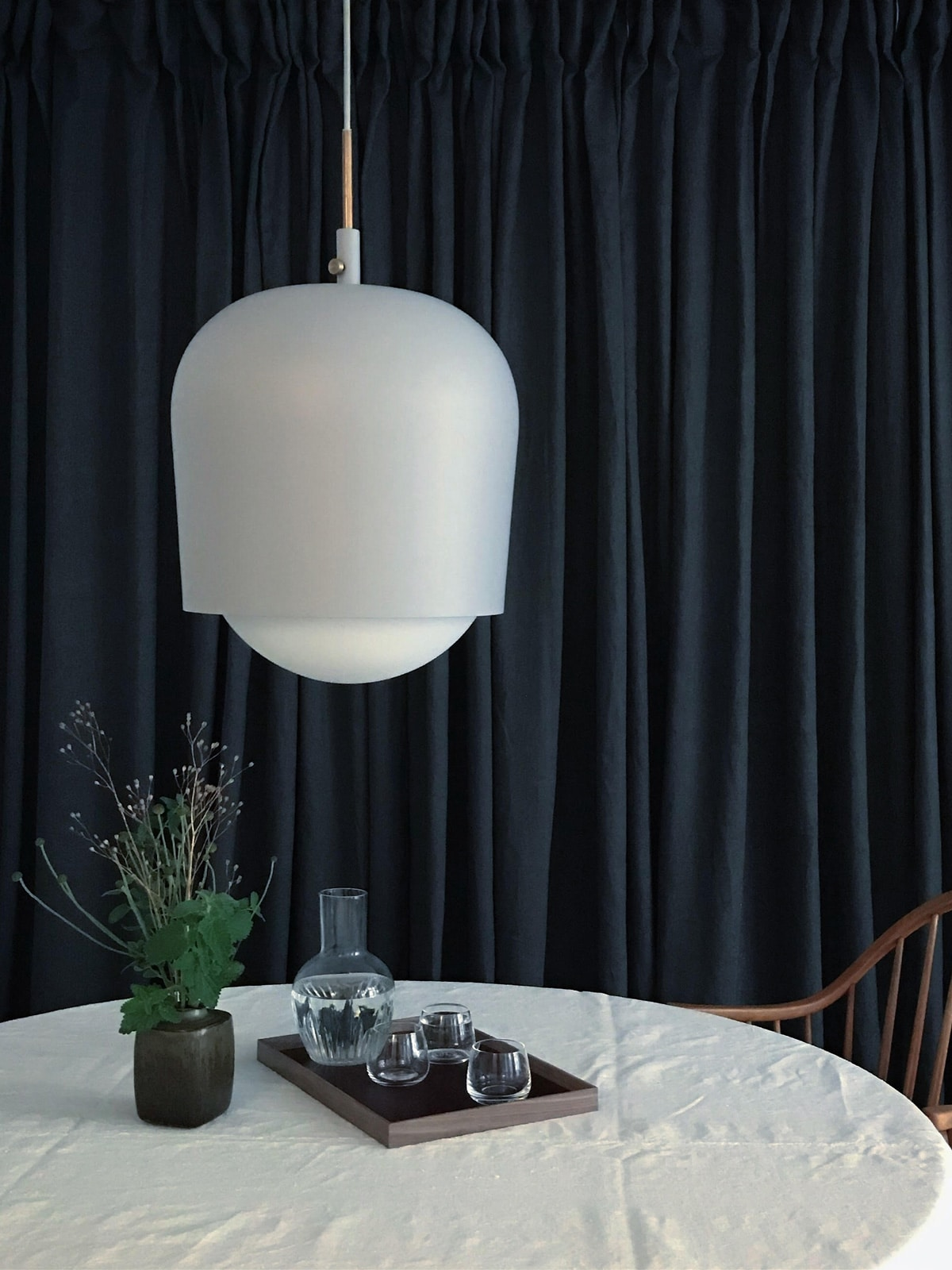 Pendel Lampe Blind Lamp manuel dimmbar munk collective