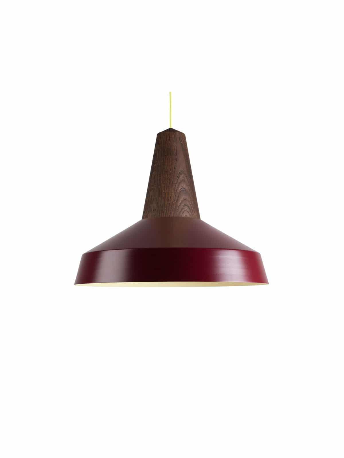 nachhaltige Leuchte mit wechselbarem Lampenschirm Eikon Circus von Schneid