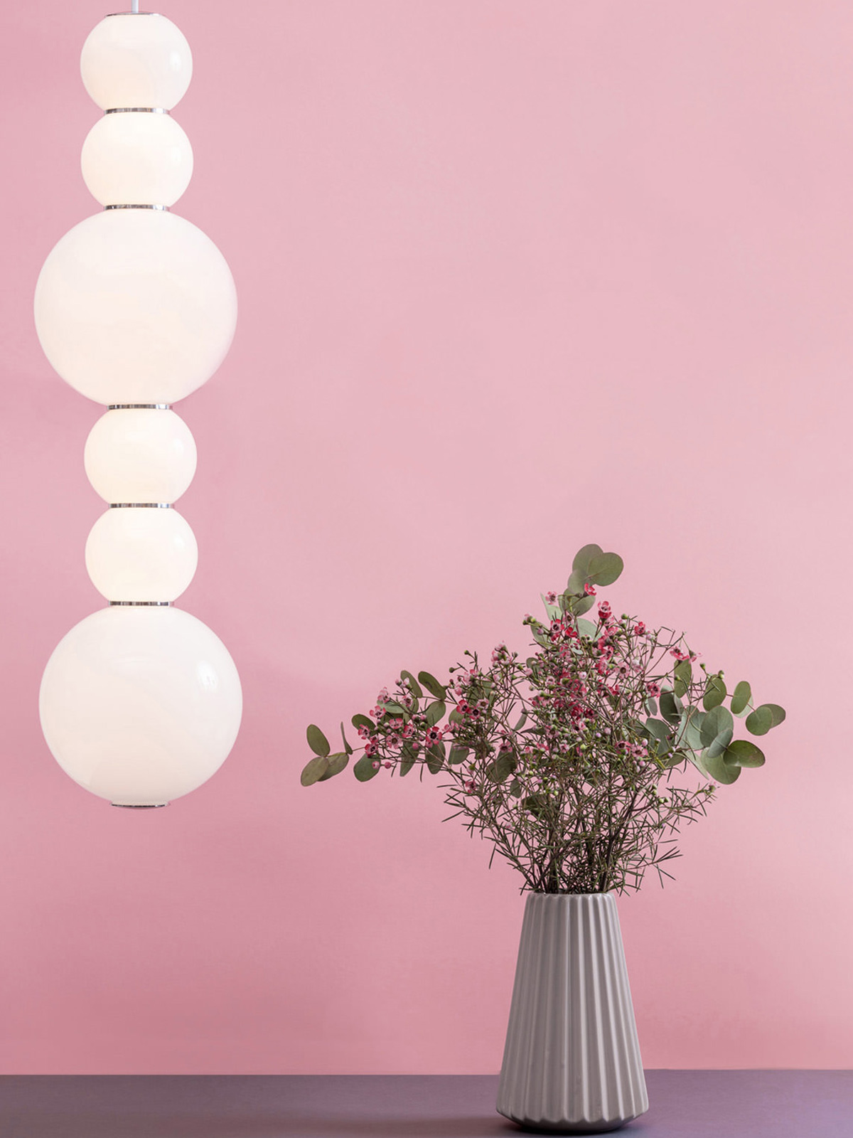 DesignOrt Blog: Neue Designerlampen Pendel Lampe Pearls Double Opalglas LED von Formagenda Made in Germany