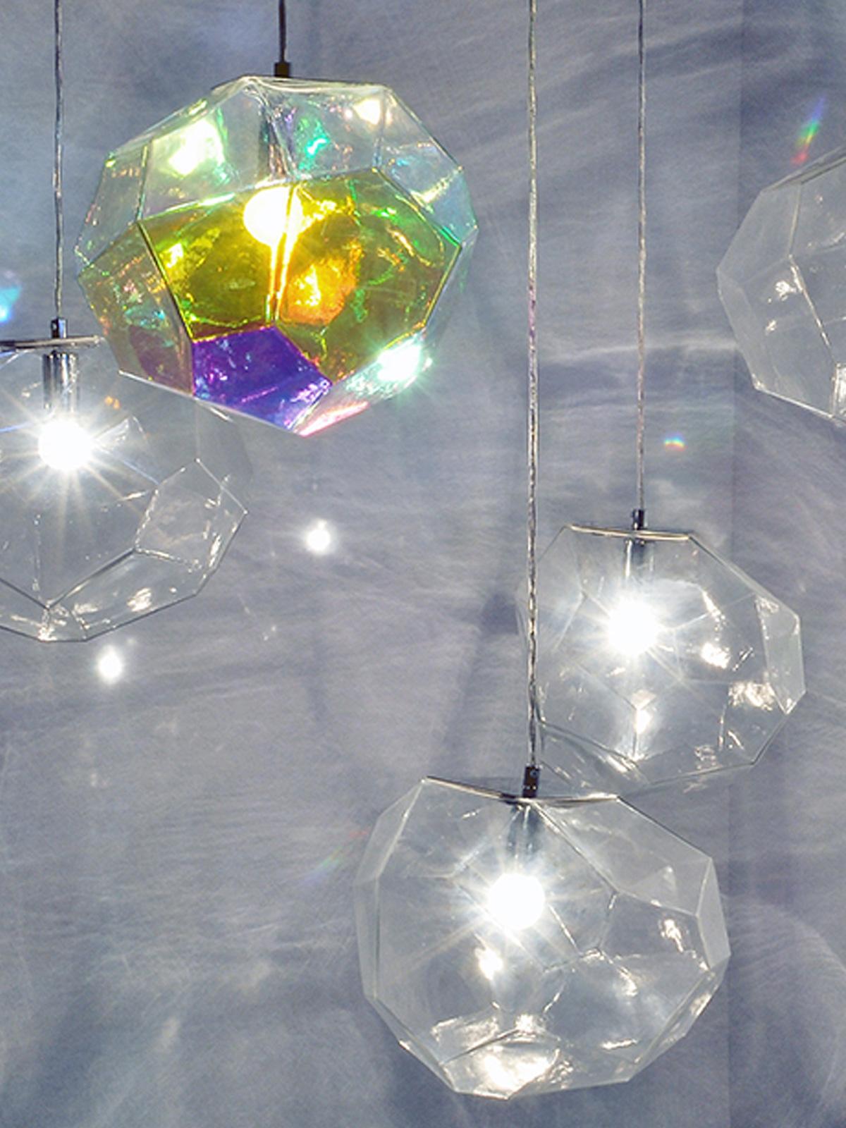DesignOrt Blog: Ausgefallene Designerlampen Pendel Lampe Asteroid innermost