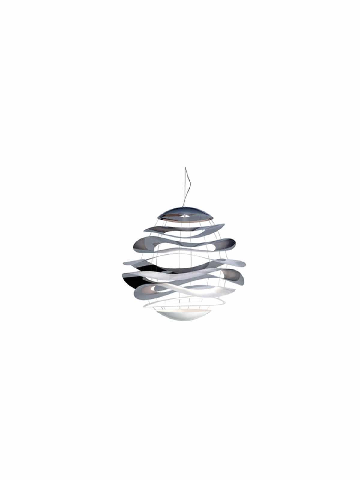 grosse Pendel Lampe Buckle von Innermost