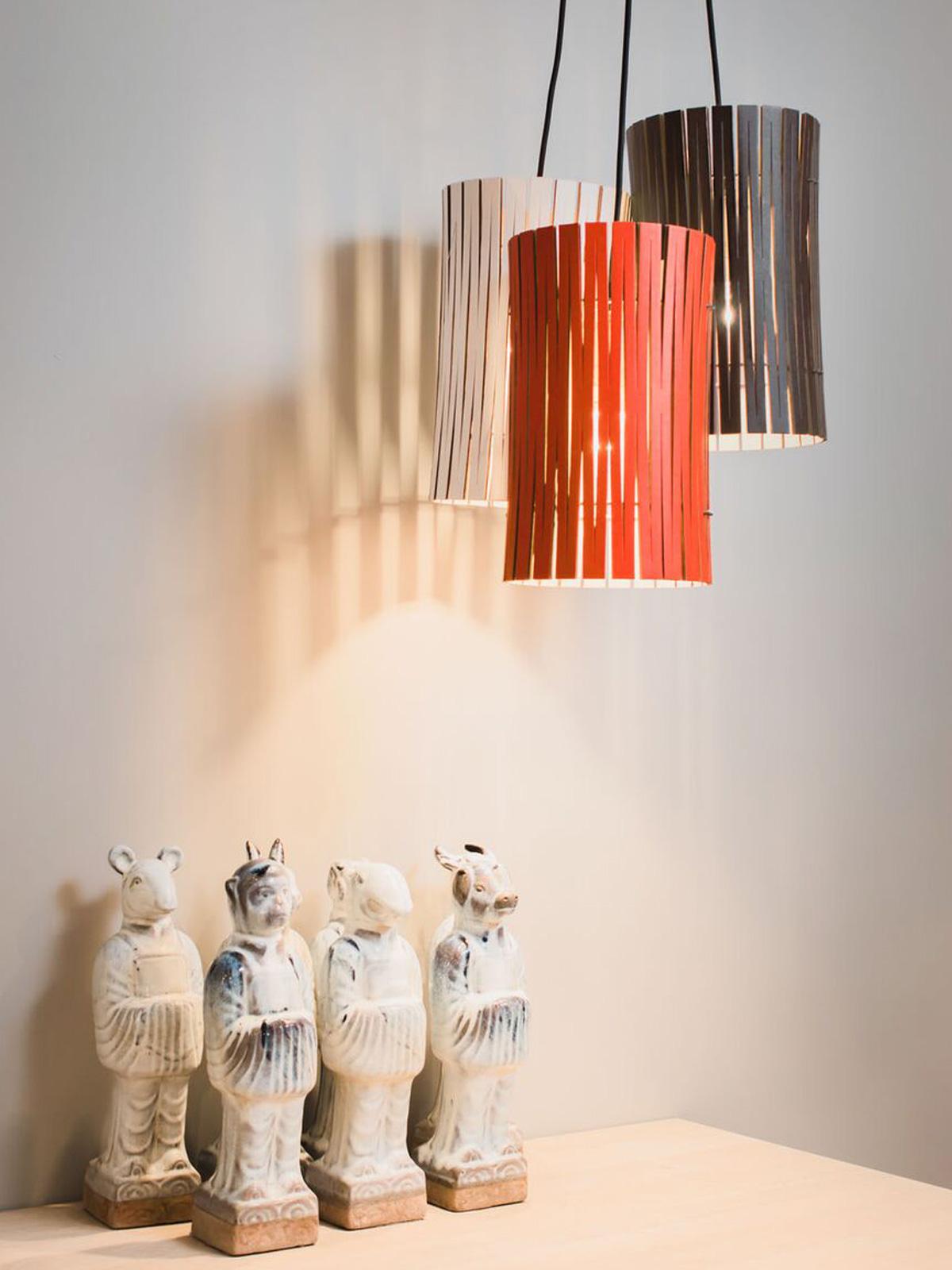 DesignOrt Blog: Dreierhängung von Pendelleuchten Kerflights von Graypants