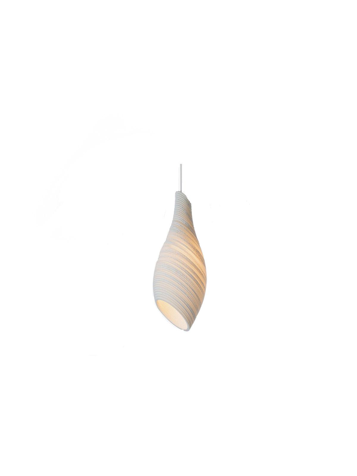 nest SCRAPLIGHTS white Pendellampe