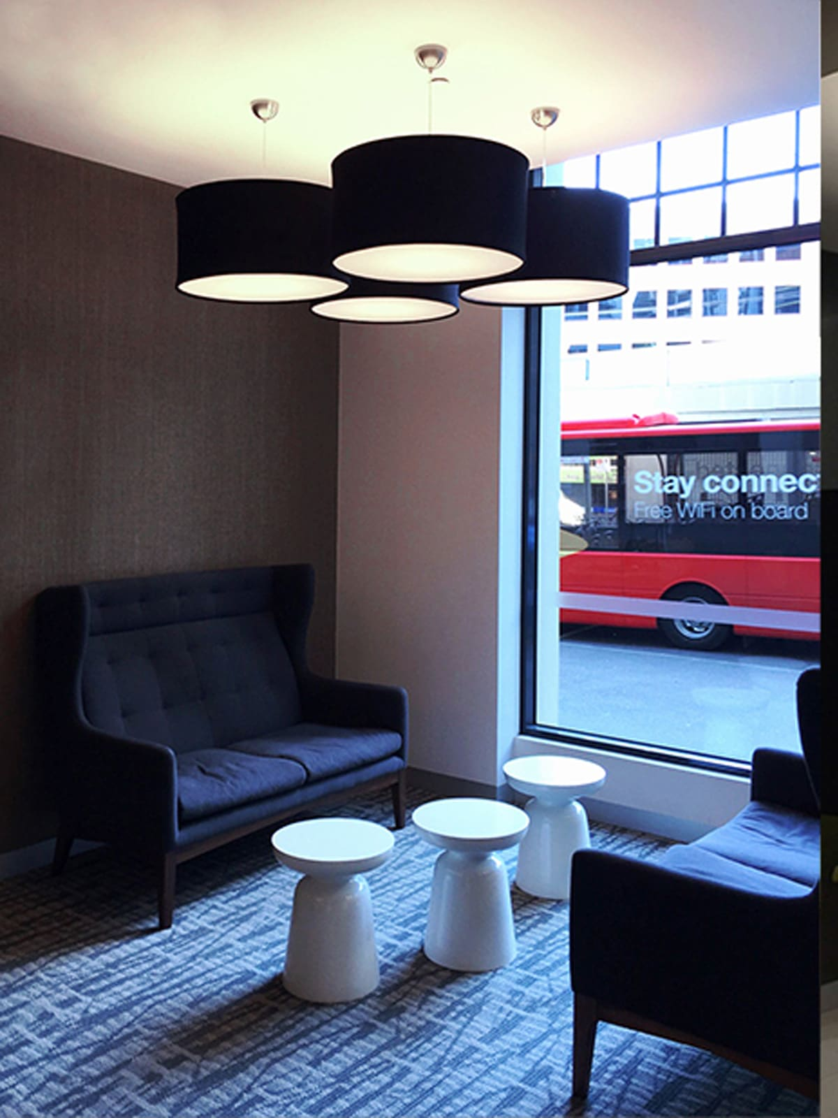 DesignOrt Blog: Trommelförmige Pendelleuchten Kobe Lampenschirm