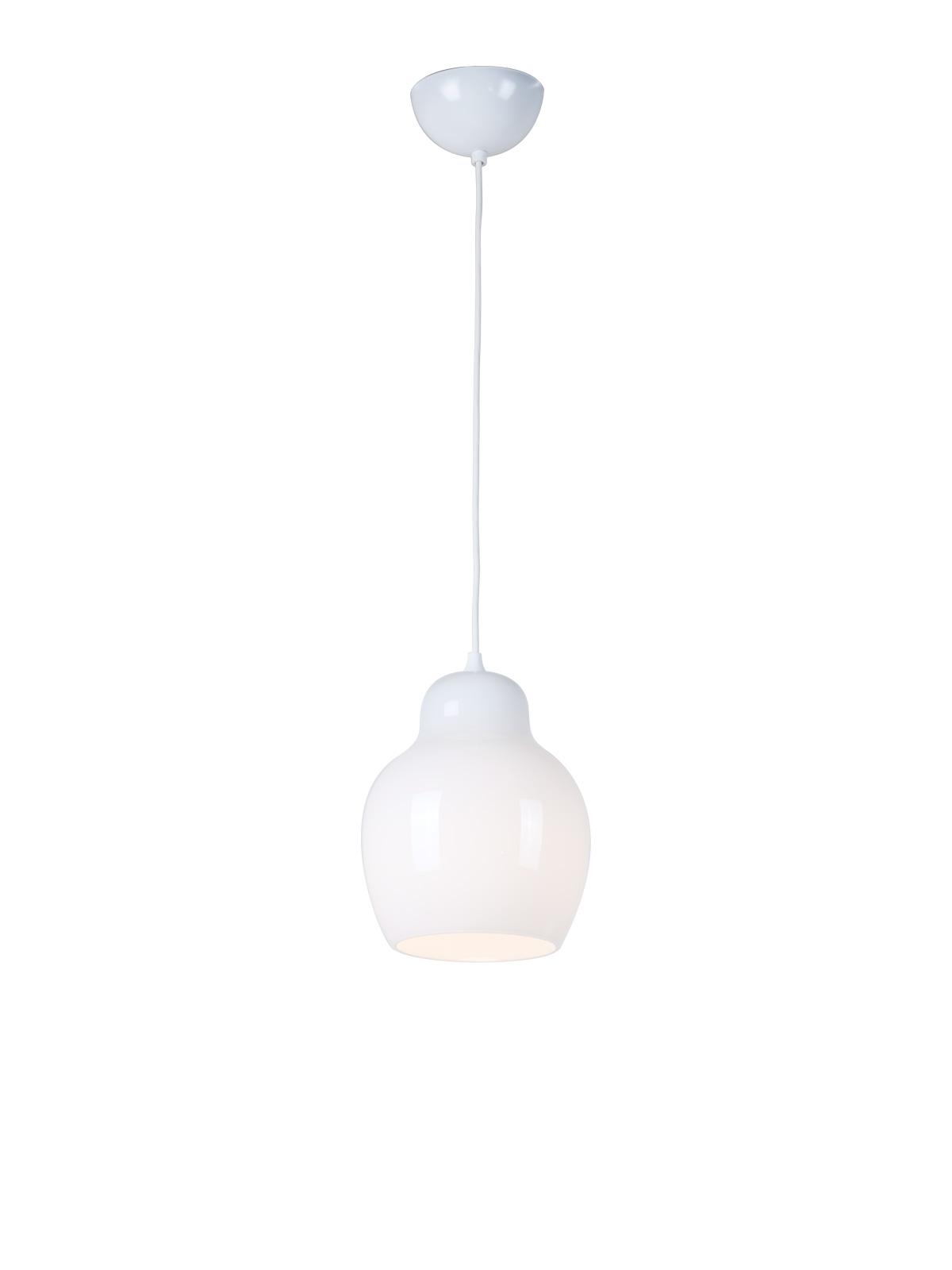 Designerlampe aus Opalglas Pomelo von Innermost