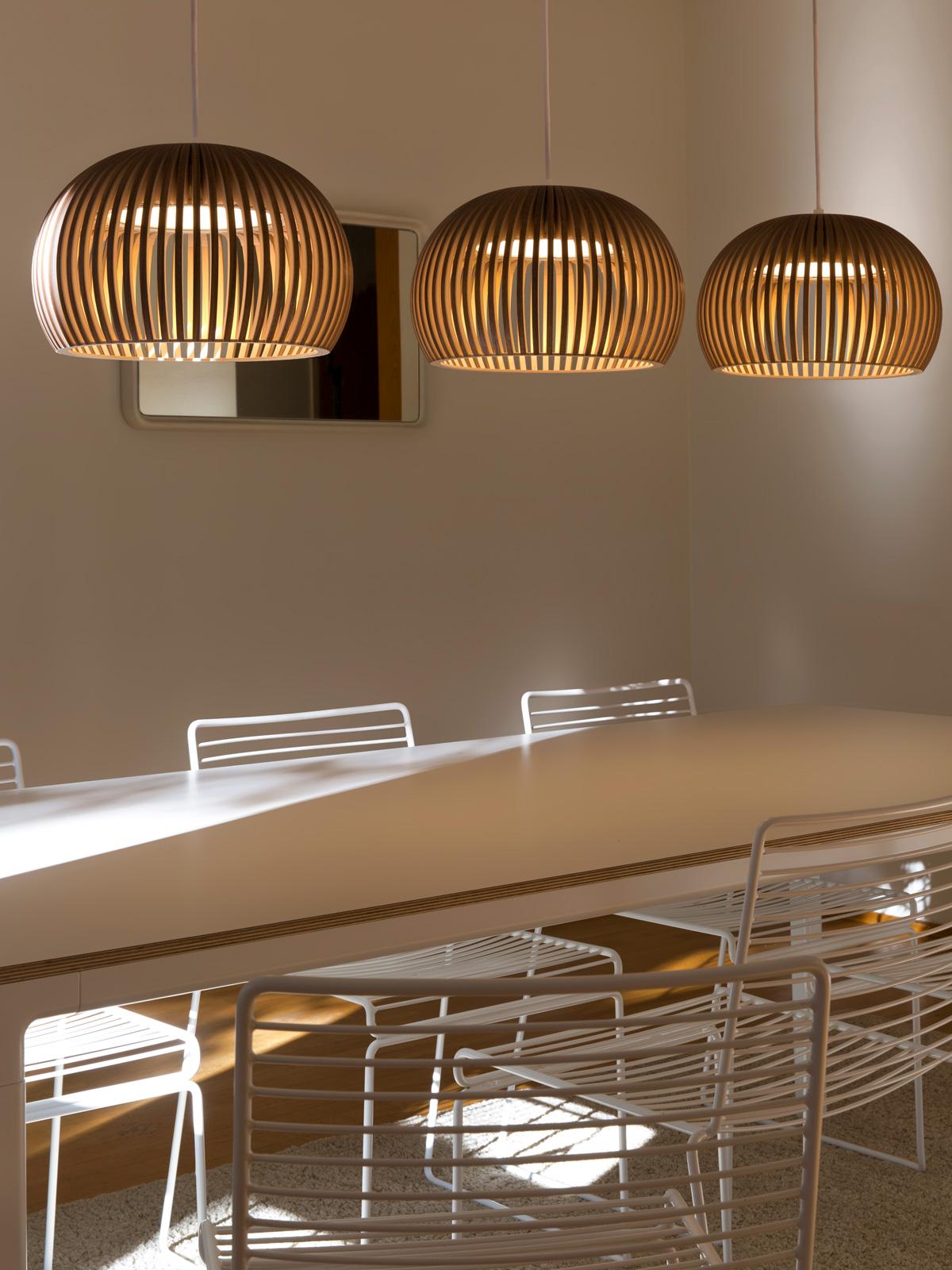 Holzlampe Atto 5000 von Secto Design #skandinavisch #nachhaltig #lampe