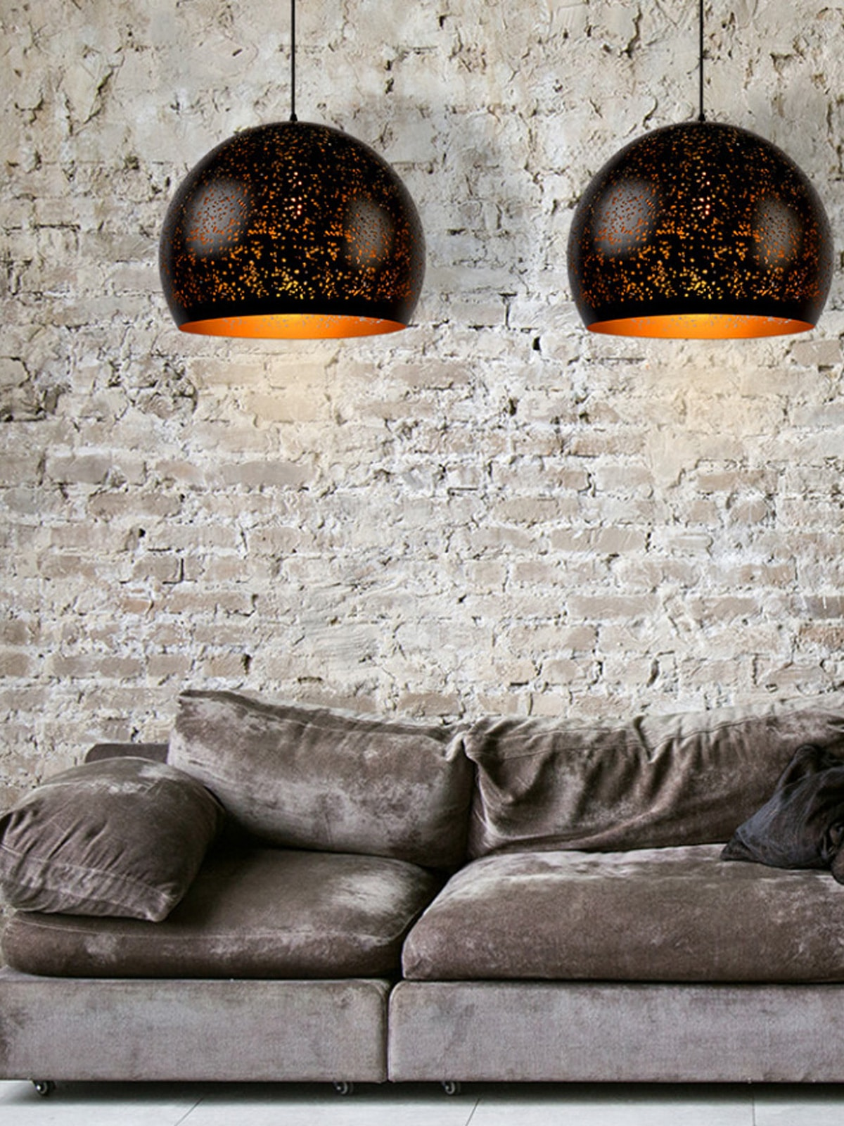 DesignOrt Blog: Die Designwelt von Lucide Eternal schwarz goldene Lampe