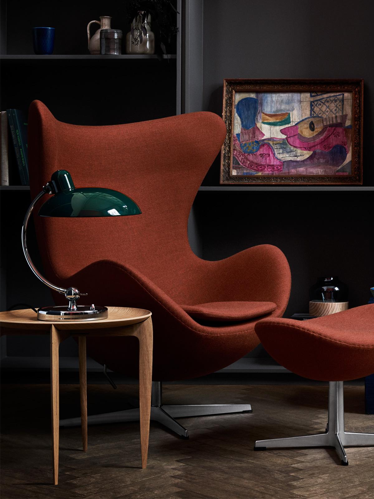 DesignOrt Blog: Designer im POrtrait: Arne Jacobsen Kaiser Idell T Luxus aus der Serie von Christian Dell