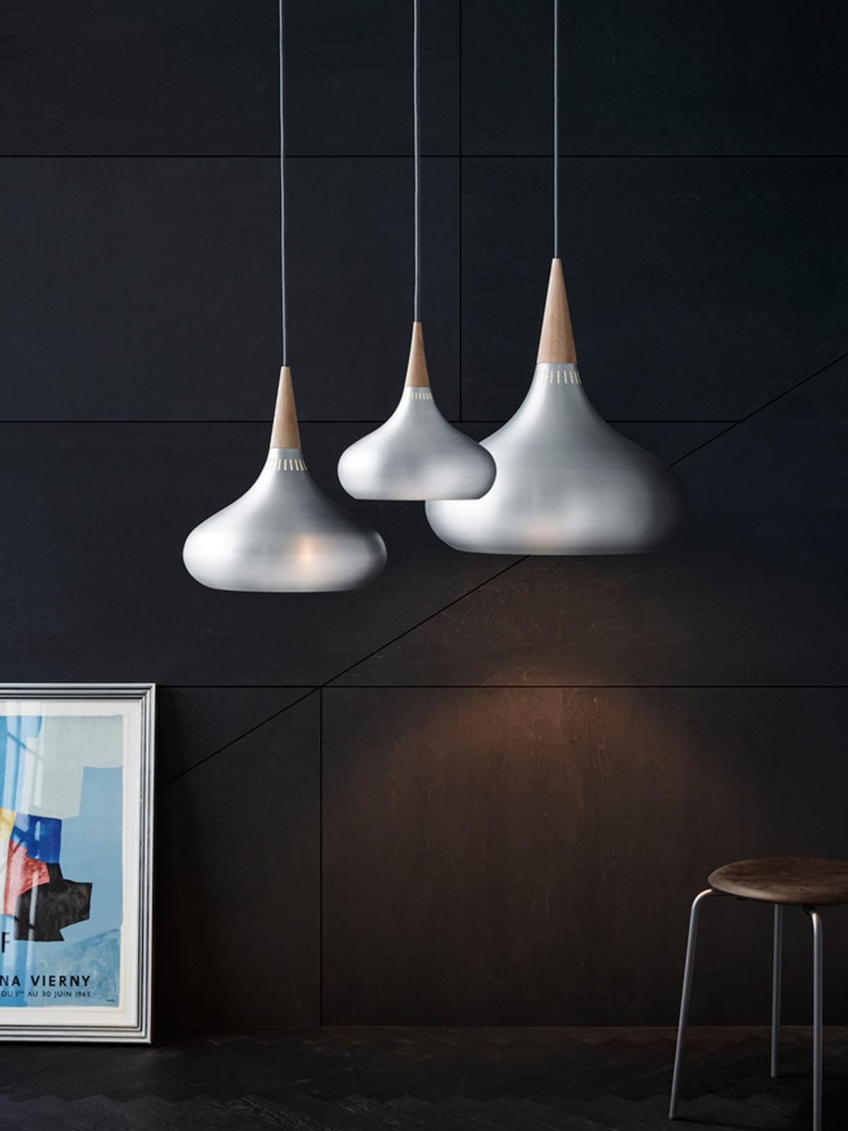 Designerlampe Orient Aluminium in drei Größen