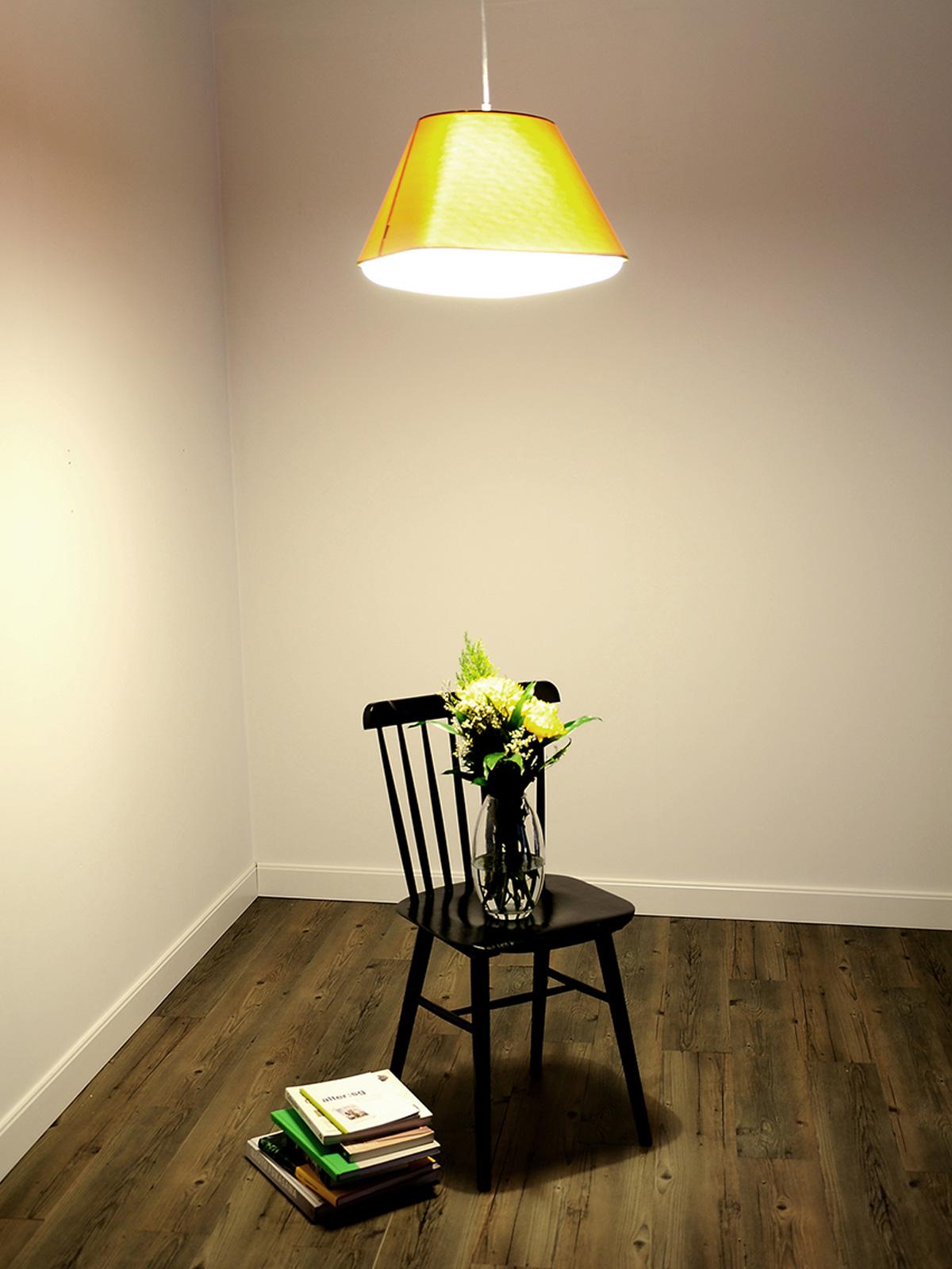 Rd2SQ Gelb Yellow Lampe Innermost DesignOrt Berlin