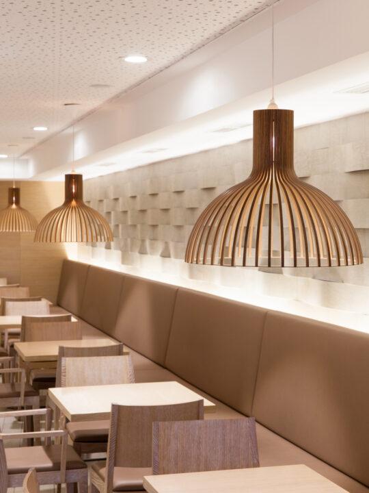 Pendel Lampe Victo 4250 von Secto Design aus nachhaltigem Birkenholz #skandinavisch #lampe
