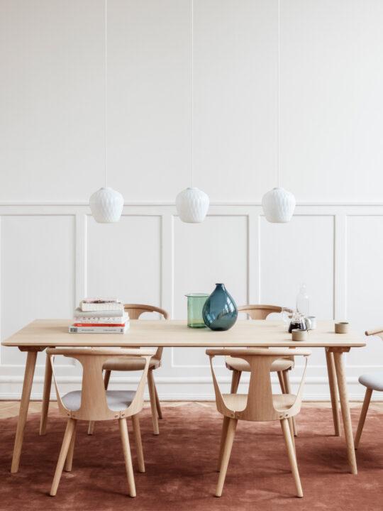skandinavische Glasleuchte Blown von &tradition in Klar oder Opal